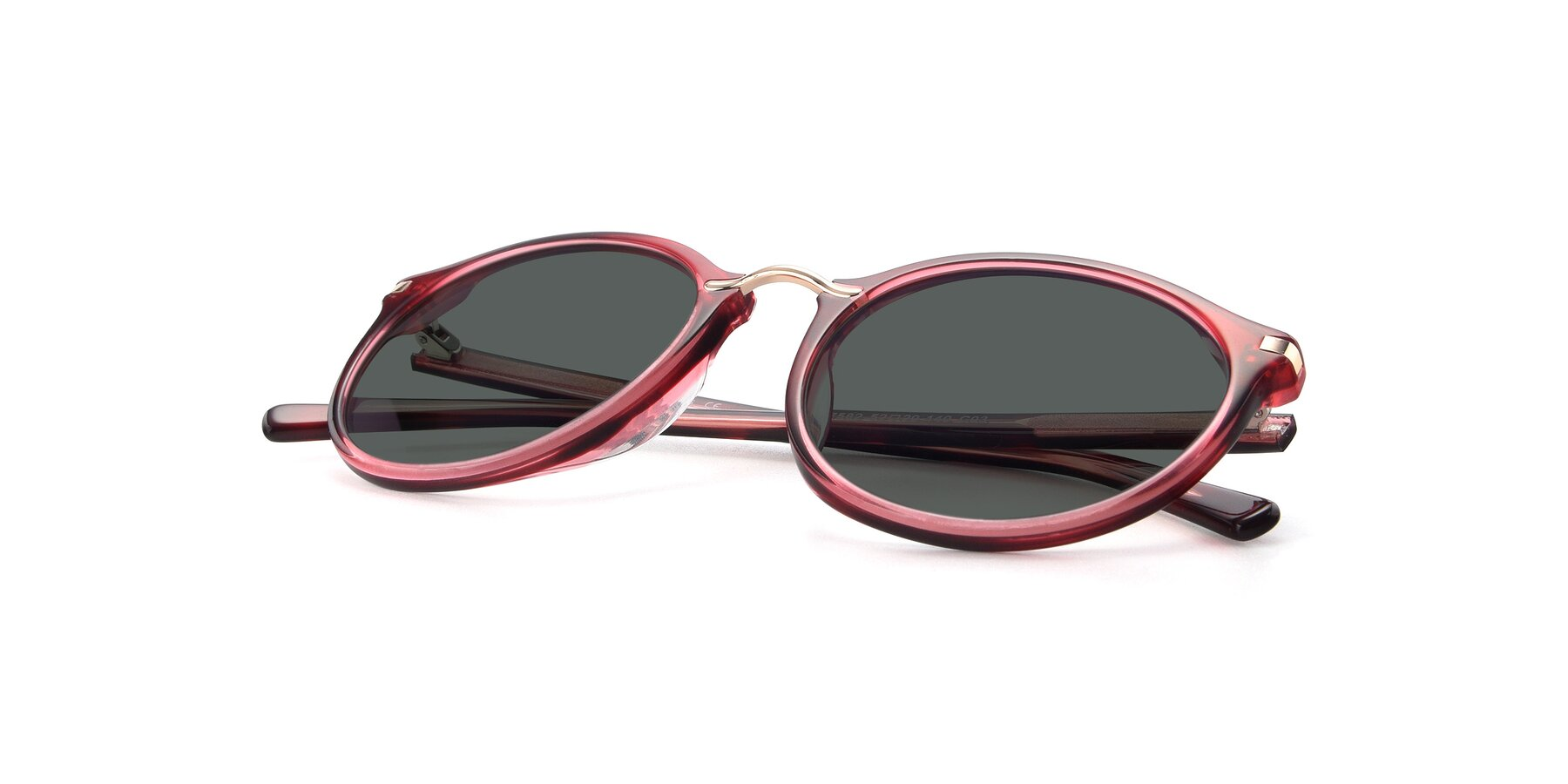 View of 17582 in Wine with Gray Polarized Lenses