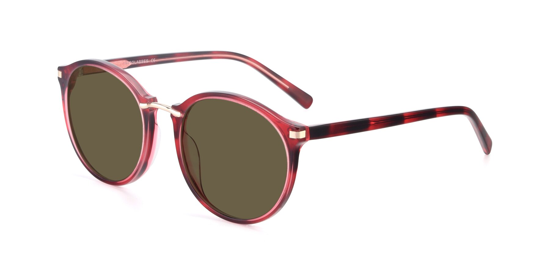 Angle of 17582 in Wine with Brown Polarized Lenses