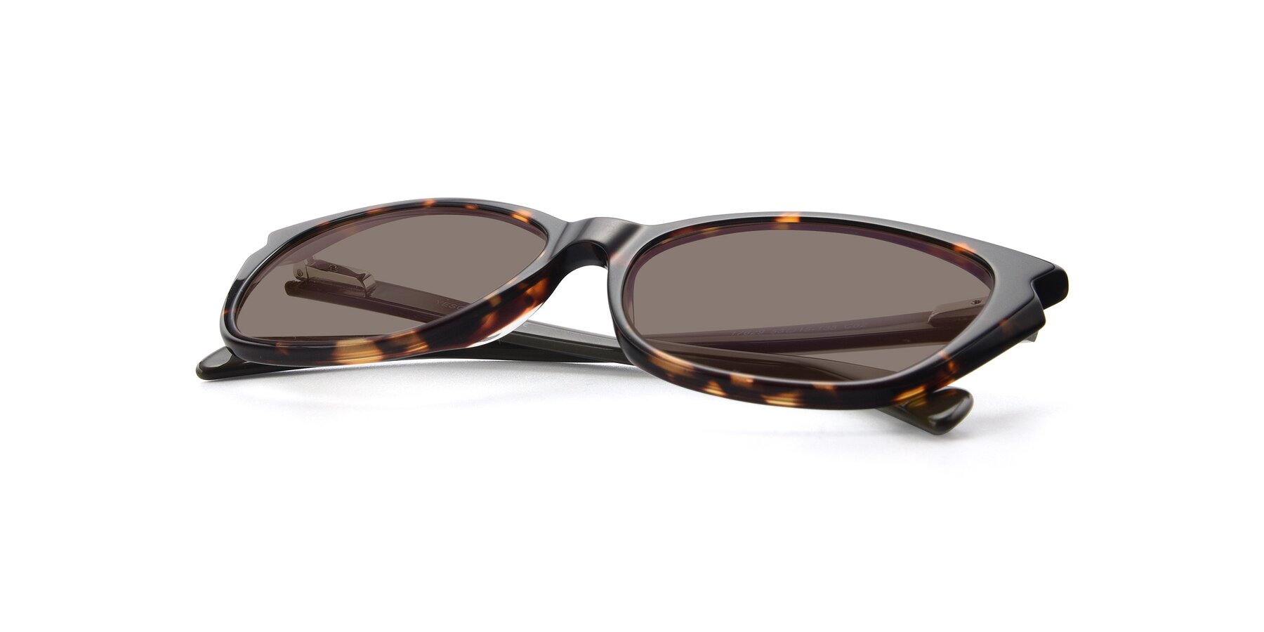 View of 17629 in Tortoise with Medium Brown Tinted Lenses