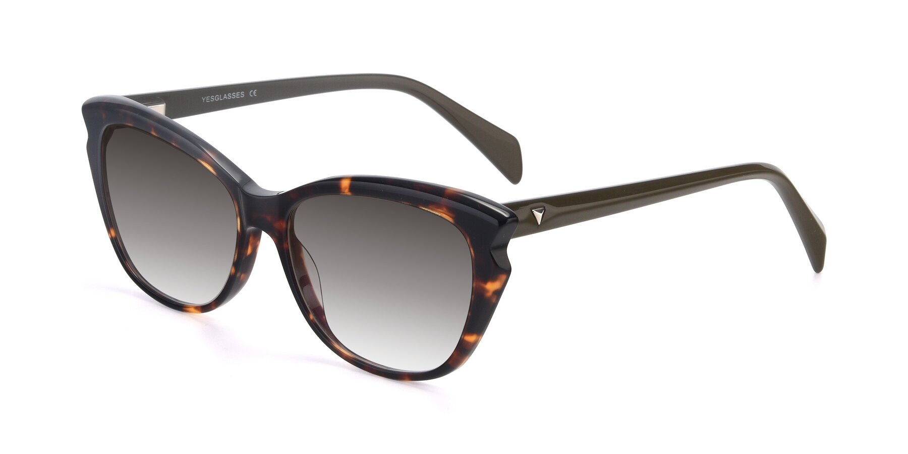 Angle of 17629 in Tortoise with Gray Gradient Lenses