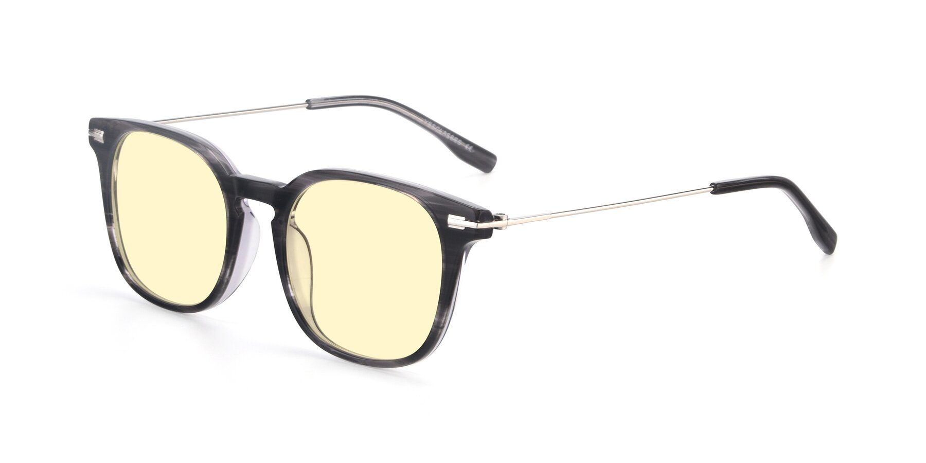 Angle of 17711 in Grey with Light Yellow Tinted Lenses