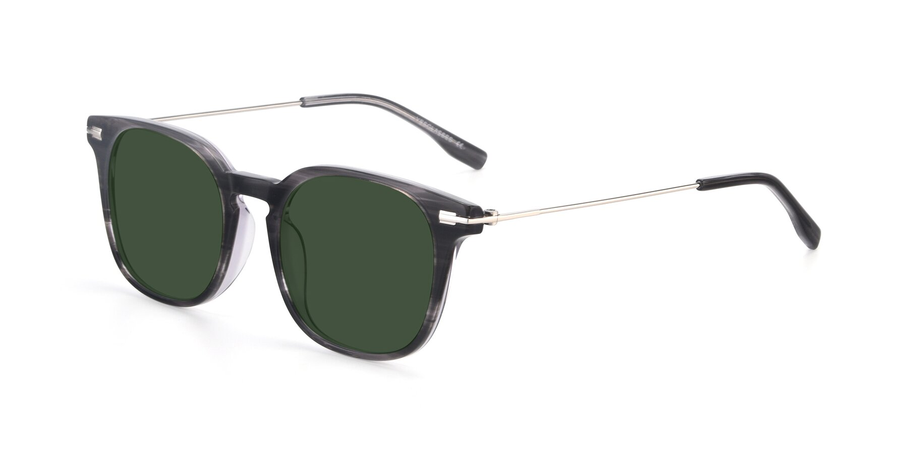 Angle of 17711 in Grey with Green Tinted Lenses