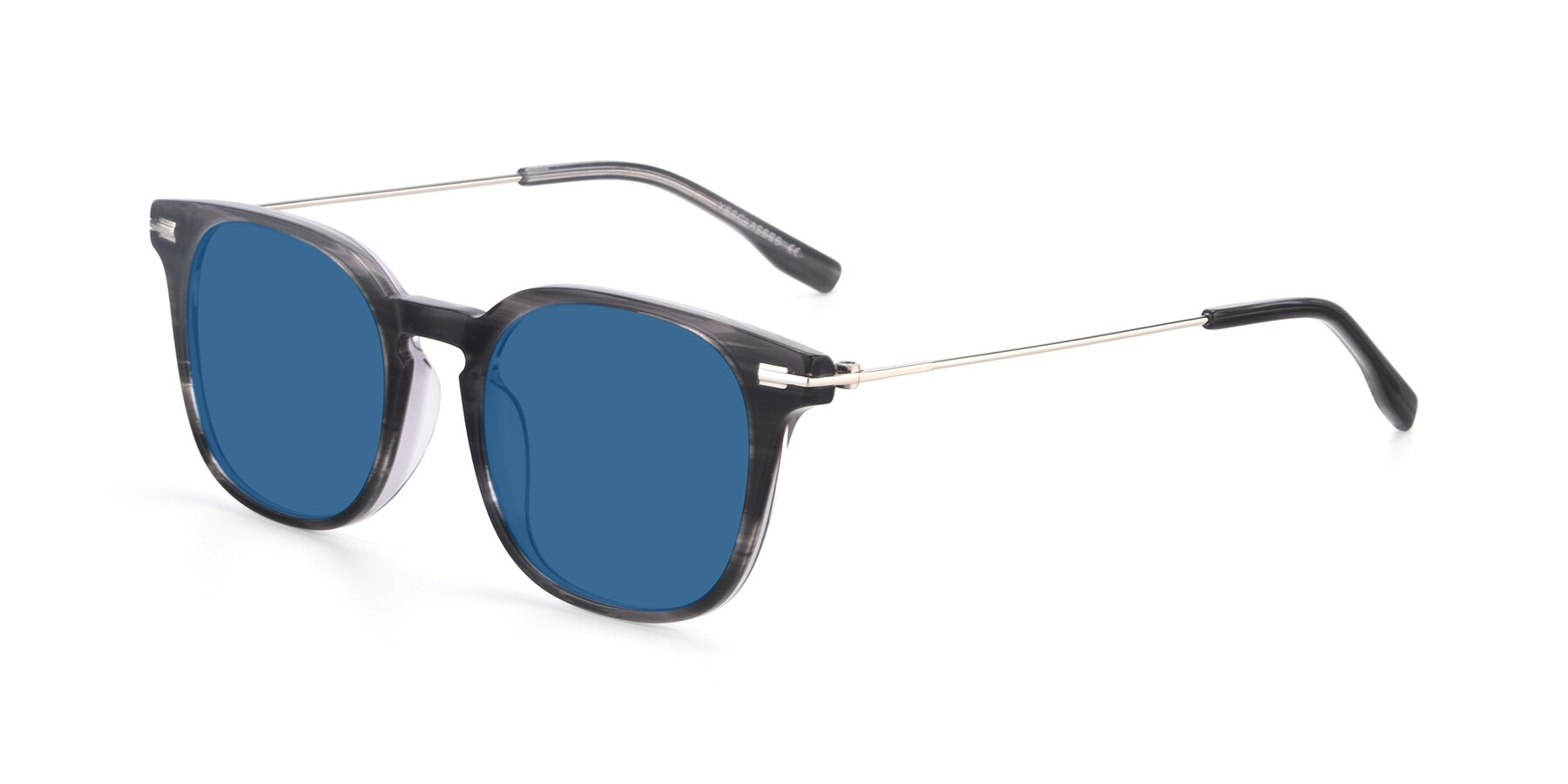 Angle of 17711 in Grey with Blue Tinted Lenses