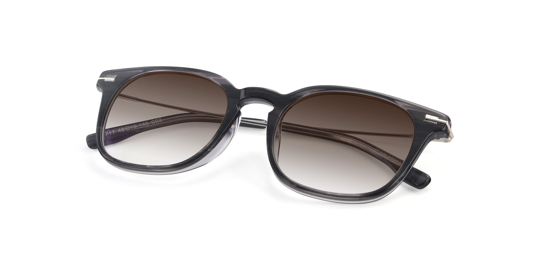 View of 17711 in Grey with Brown Gradient Lenses