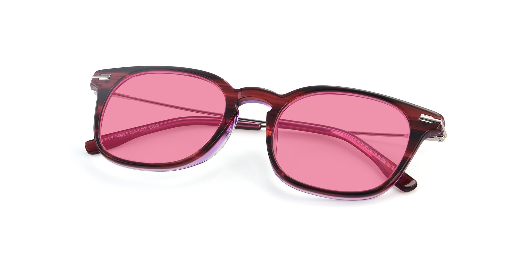 View of 17711 in Wine with Pink Tinted Lenses