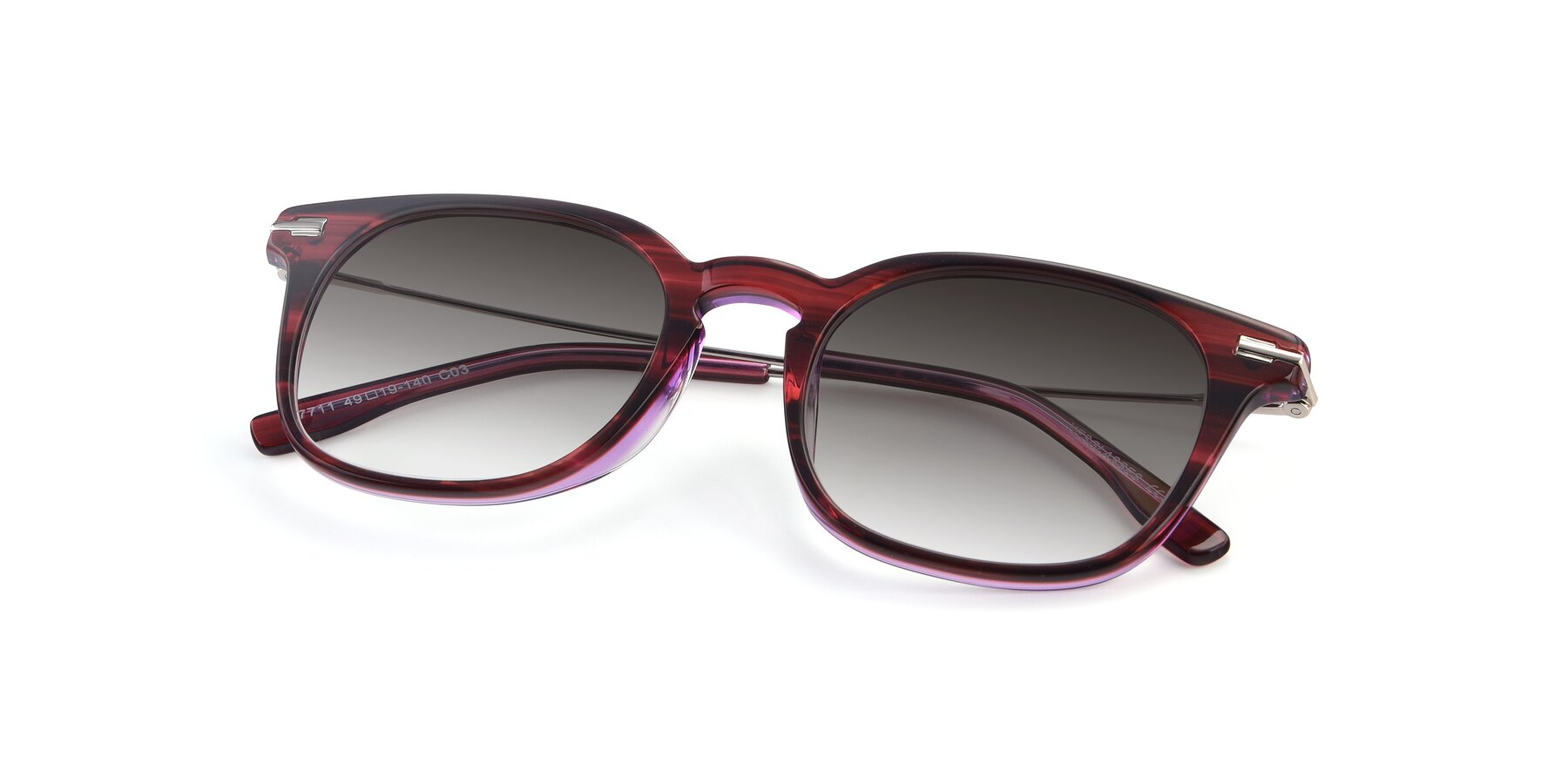 View of 17711 in Wine with Gray Gradient Lenses