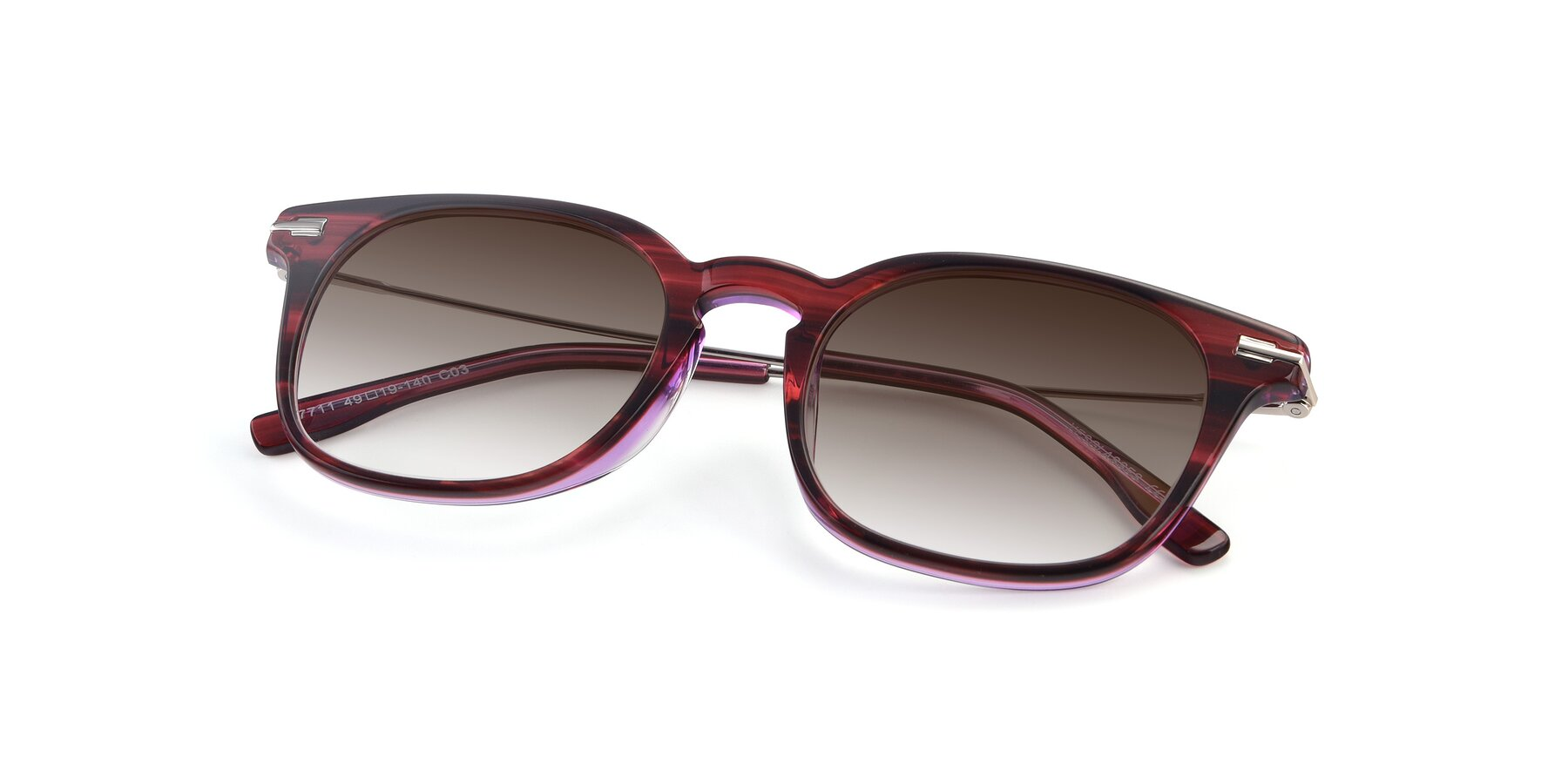 View of 17711 in Wine with Brown Gradient Lenses