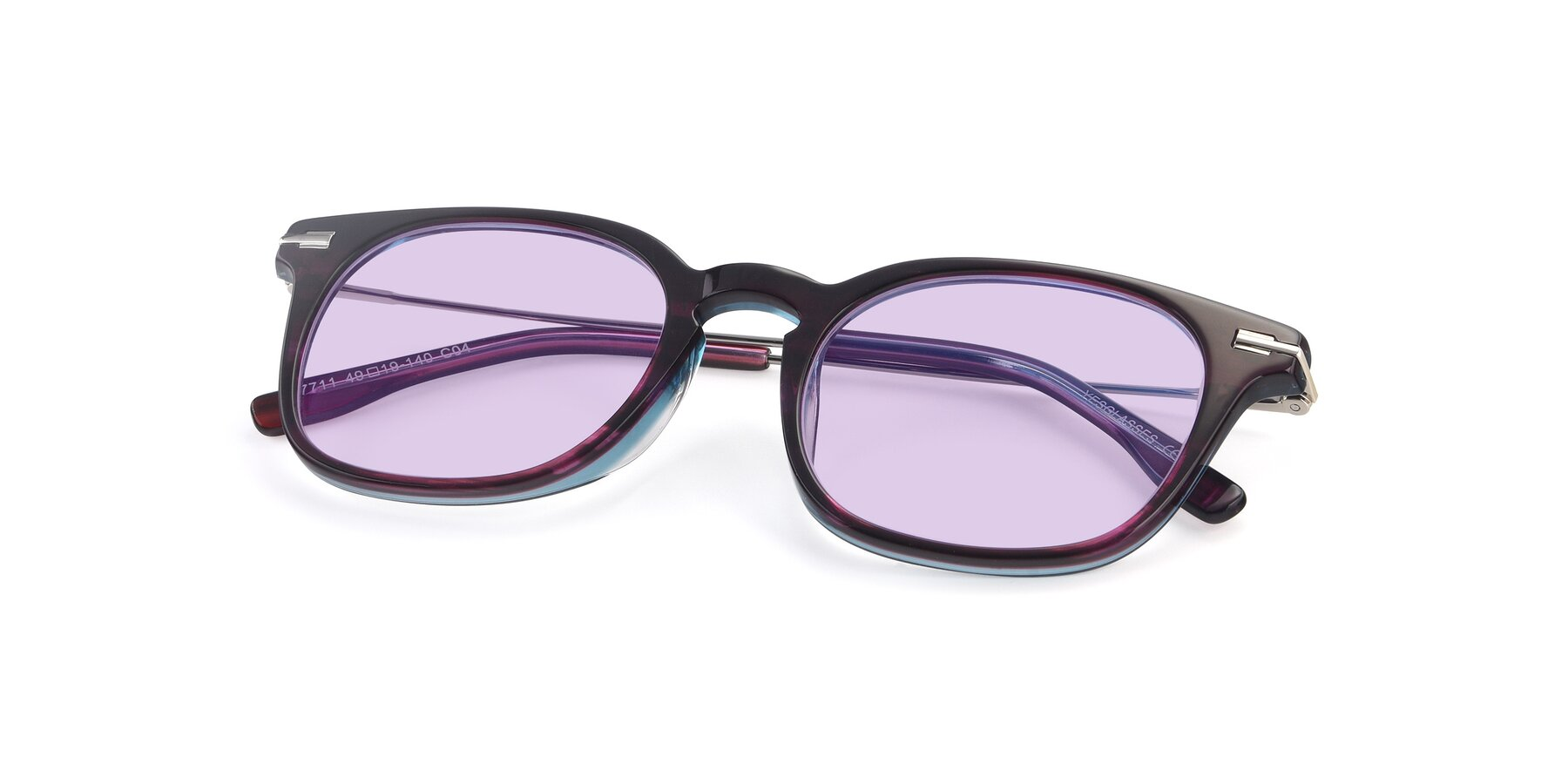 View of 17711 in Dark Purple with Light Purple Tinted Lenses
