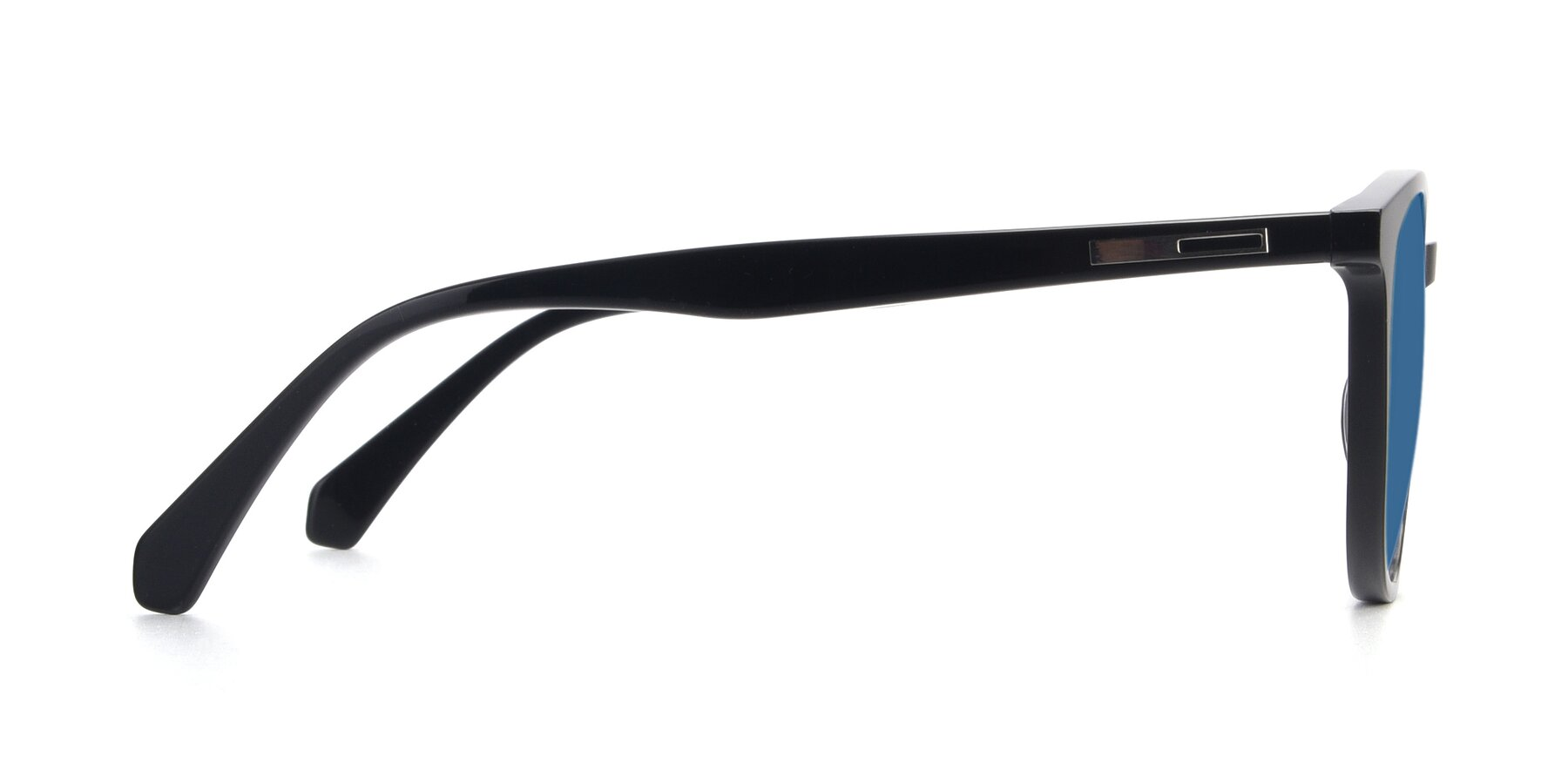 Side of 17721 in Black with Blue Tinted Lenses