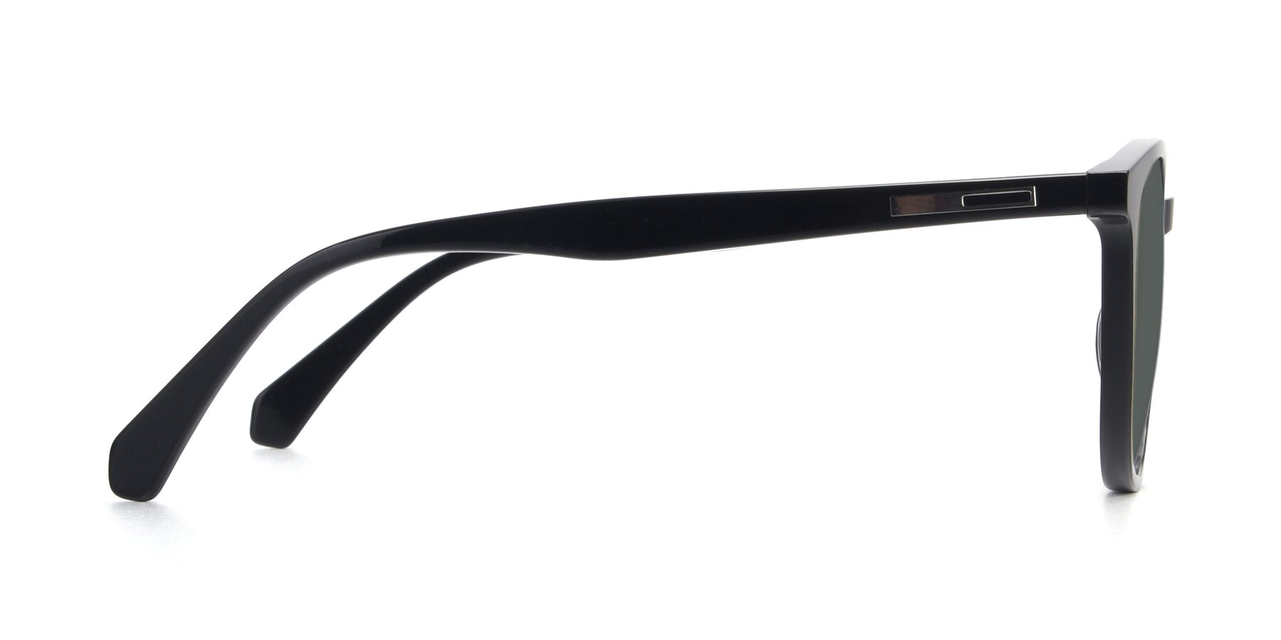Side of 17721 in Black with Gray Polarized Lenses