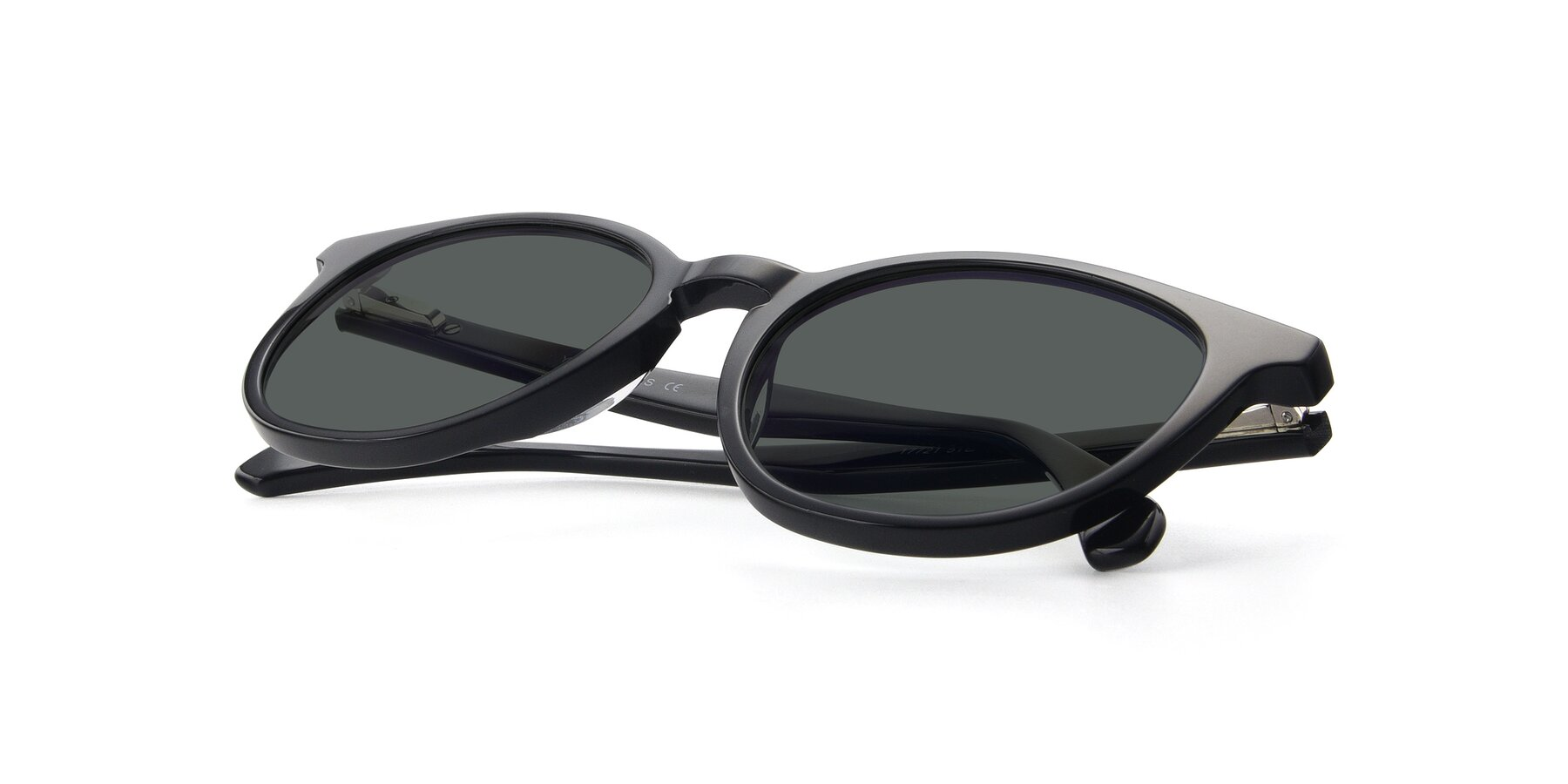 View of 17721 in Black with Gray Polarized Lenses
