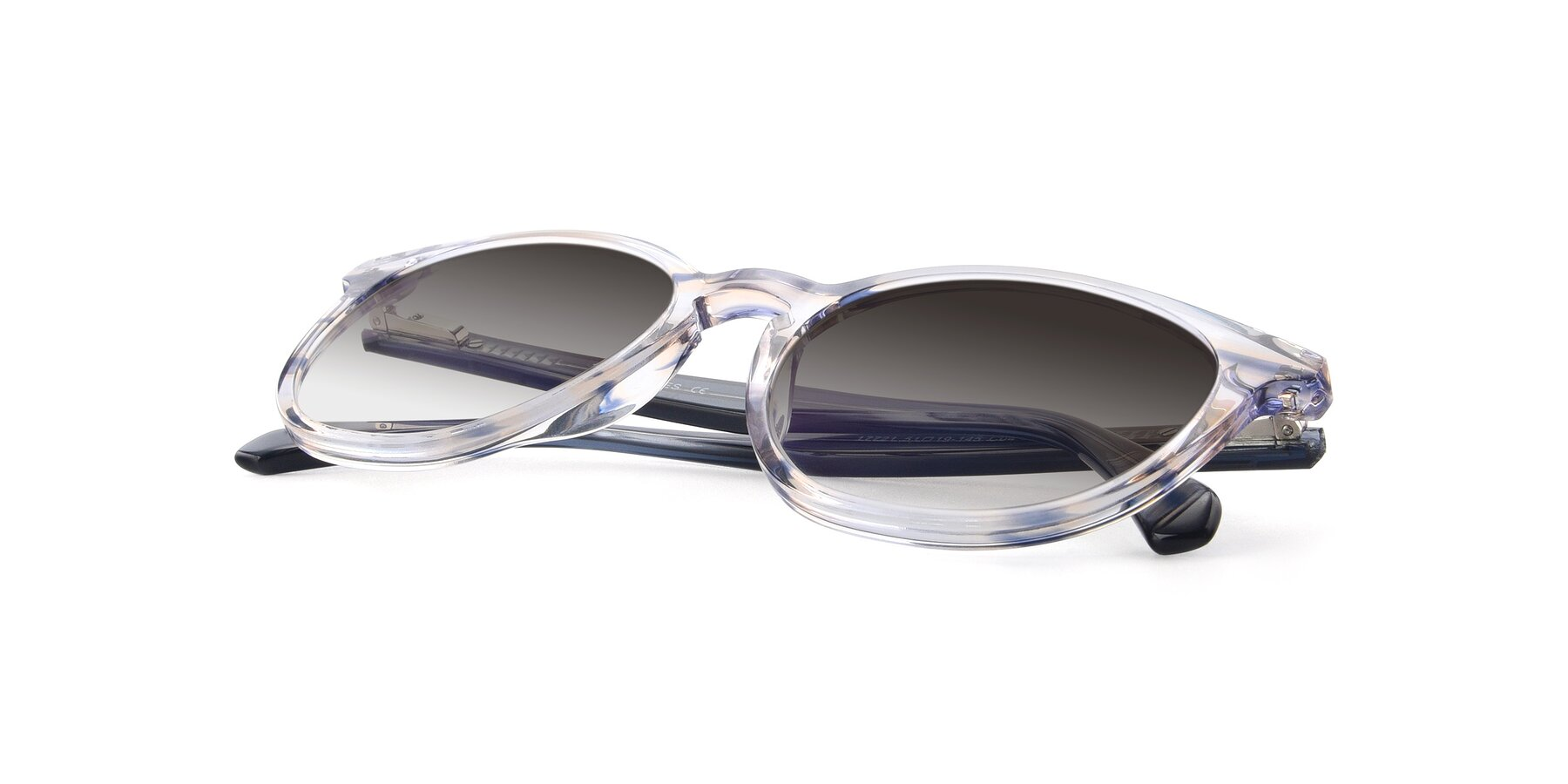View of 17721 in Stripe Blue with Gray Gradient Lenses