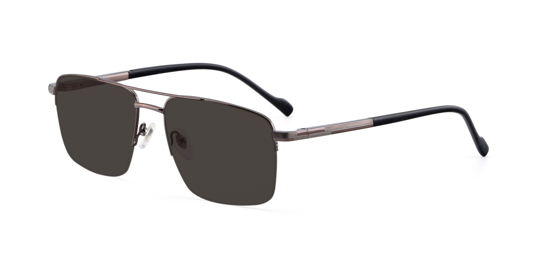 Angle of 19013 in Gunmetal with Gray Tinted Lenses