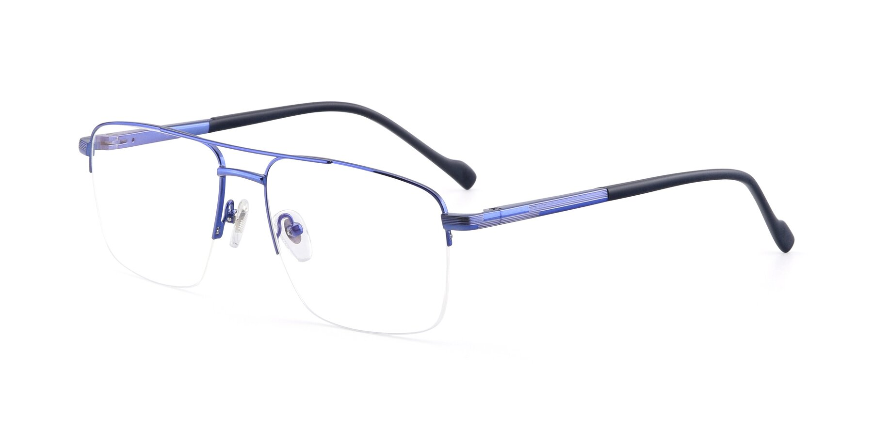 Angle of 19013 in Blue with Clear Blue Light Blocking Lenses