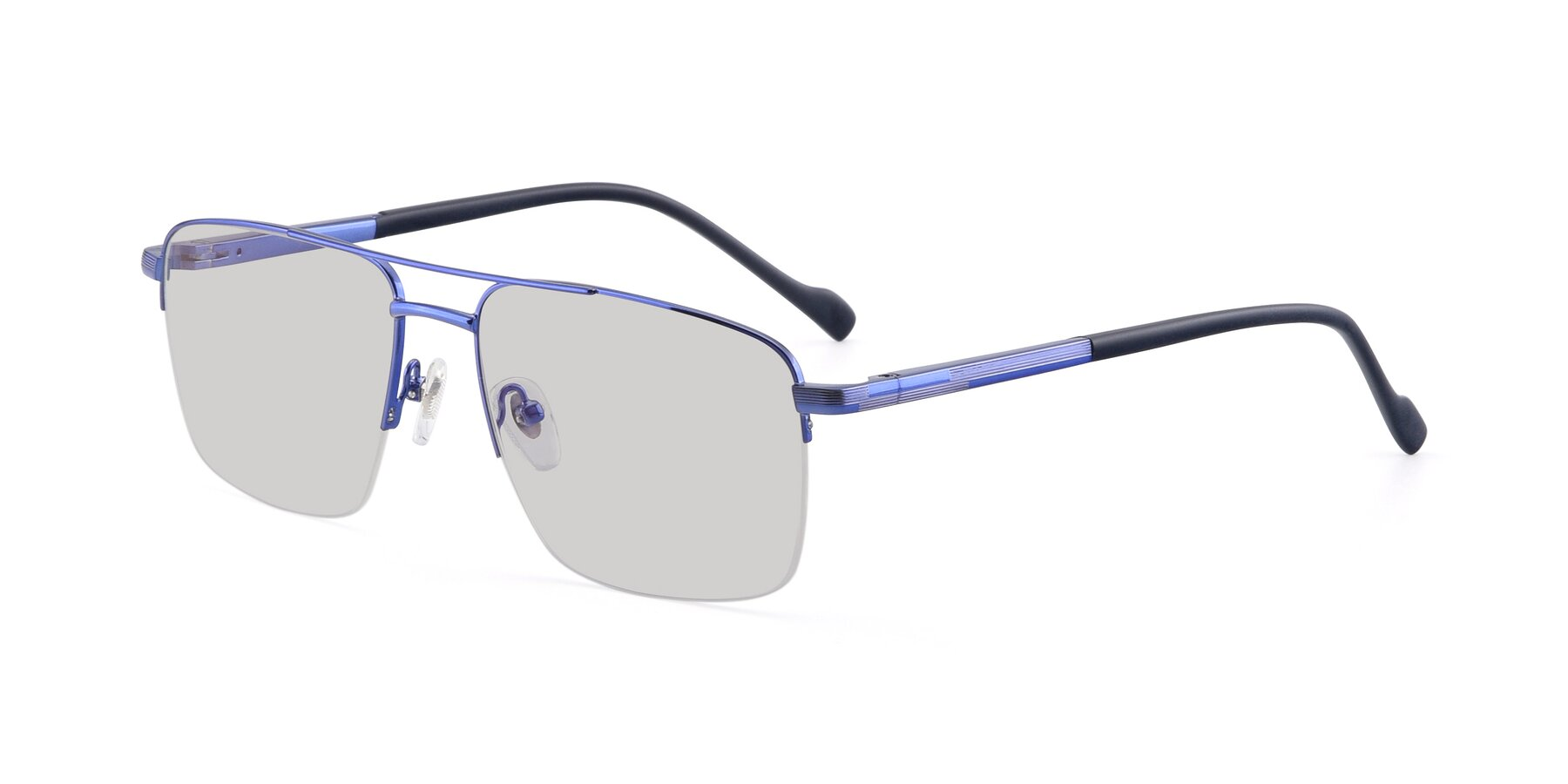 Angle of 19013 in Blue with Light Gray Tinted Lenses