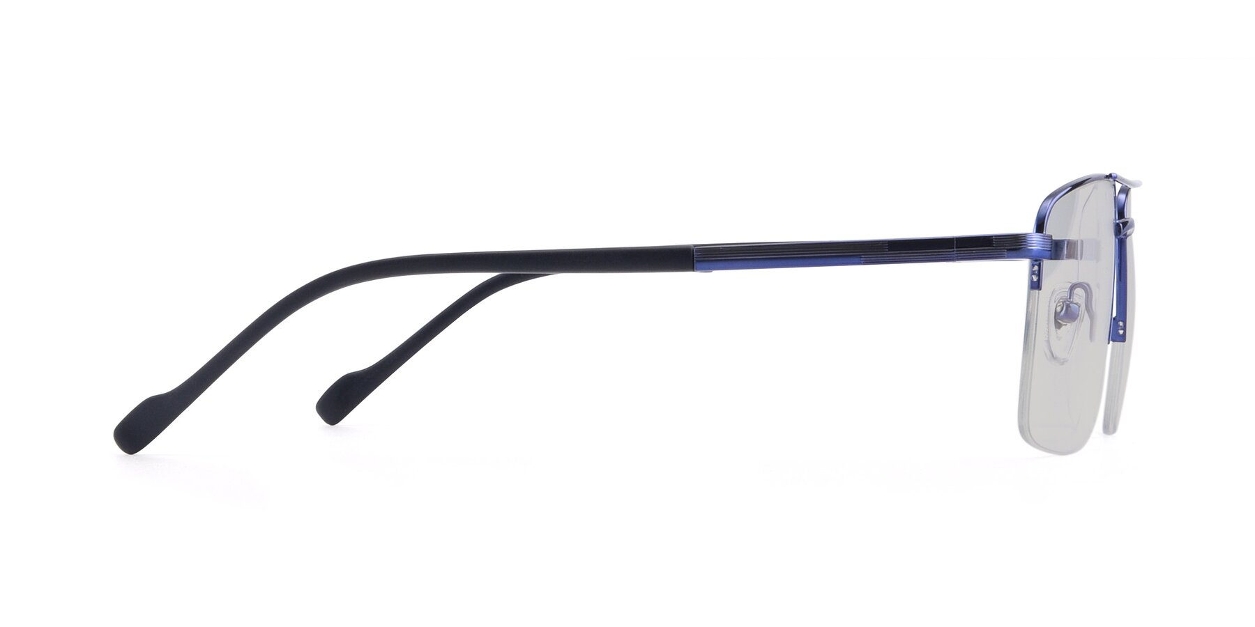 Side of 19013 in Blue with Light Gray Tinted Lenses