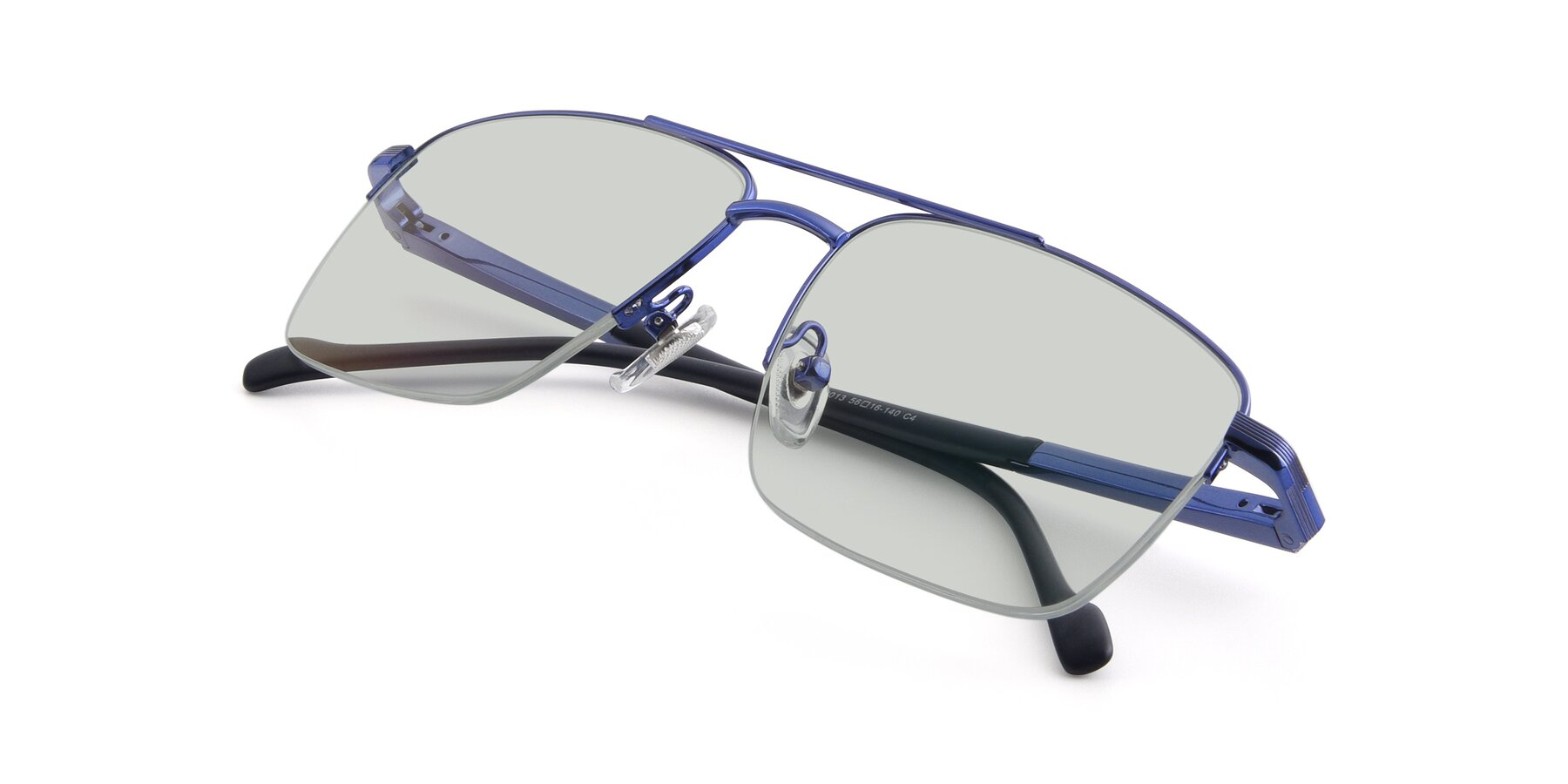 View of 19013 in Blue with Light Green Tinted Lenses