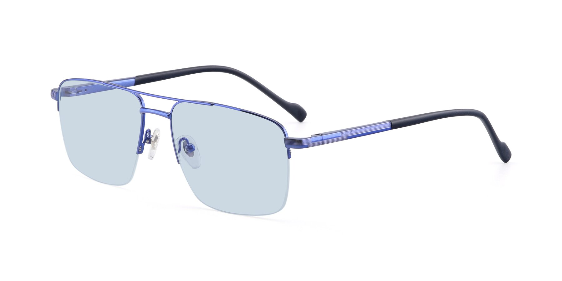 Angle of 19013 in Blue with Light Blue Tinted Lenses