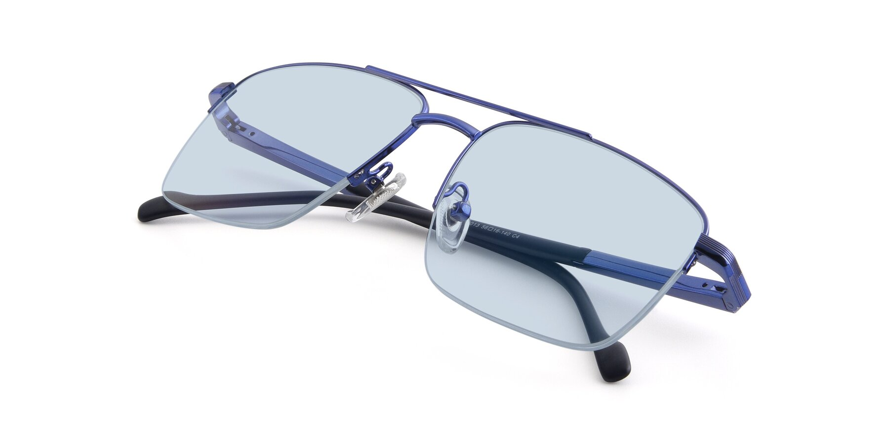 View of 19013 in Blue with Light Blue Tinted Lenses