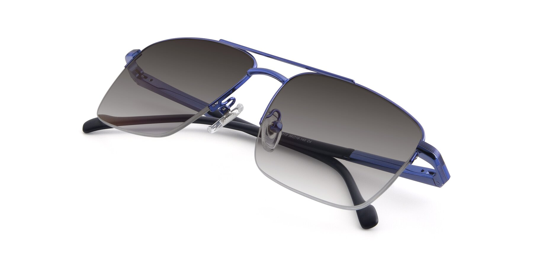 View of 19013 in Blue with Gray Gradient Lenses