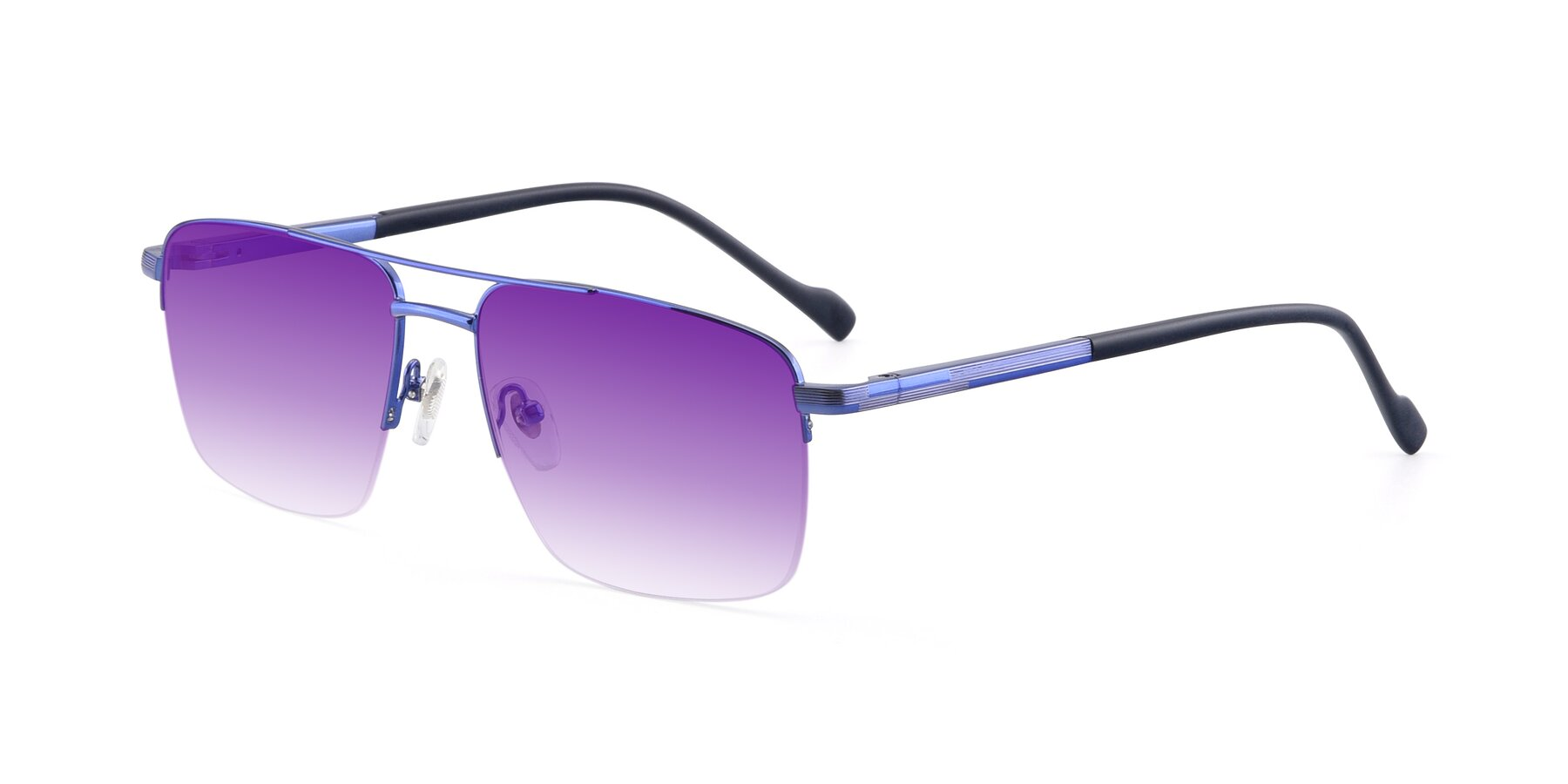 Angle of 19013 in Blue with Purple Gradient Lenses