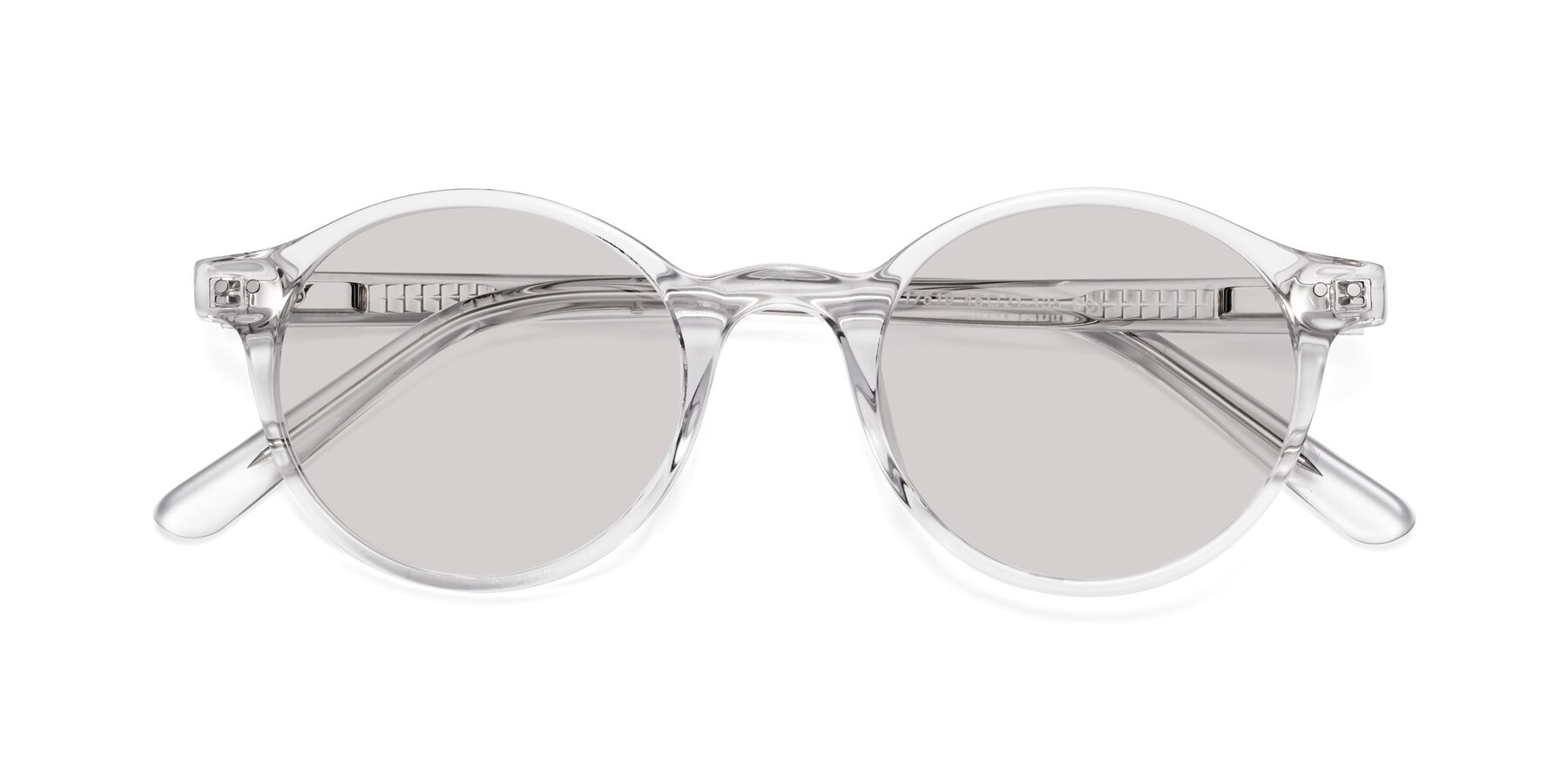 Folded Front of 17519 in Clear with Light Gray Tinted Lenses