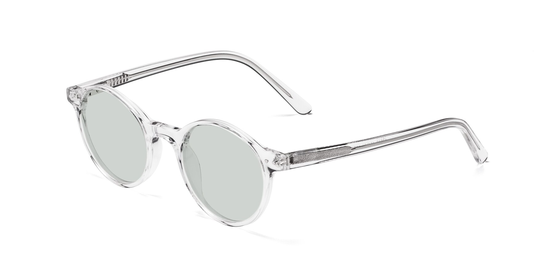 Angle of 17519 in Clear with Light Green Tinted Lenses