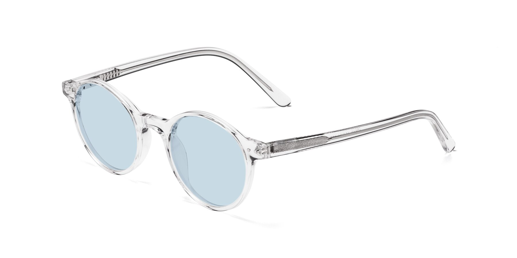 Angle of 17519 in Clear with Light Blue Tinted Lenses