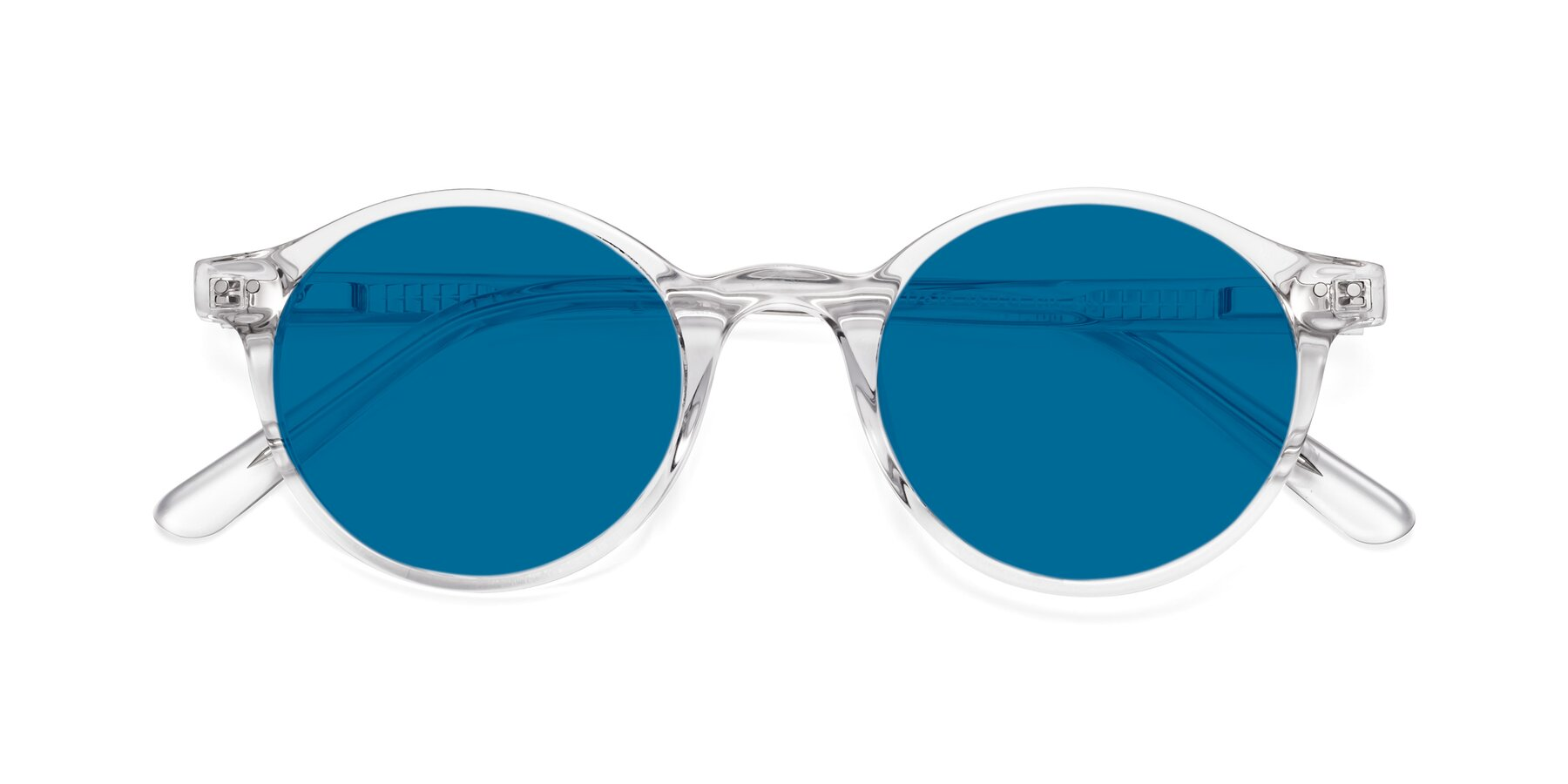 Folded Front of 17519 in Clear with Blue Tinted Lenses