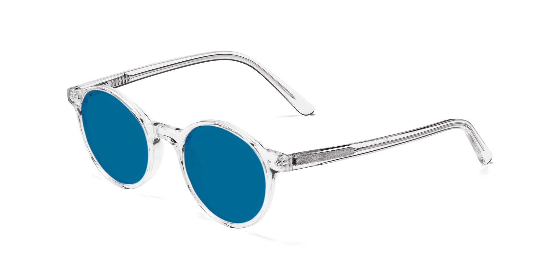 Angle of 17519 in Clear with Blue Tinted Lenses