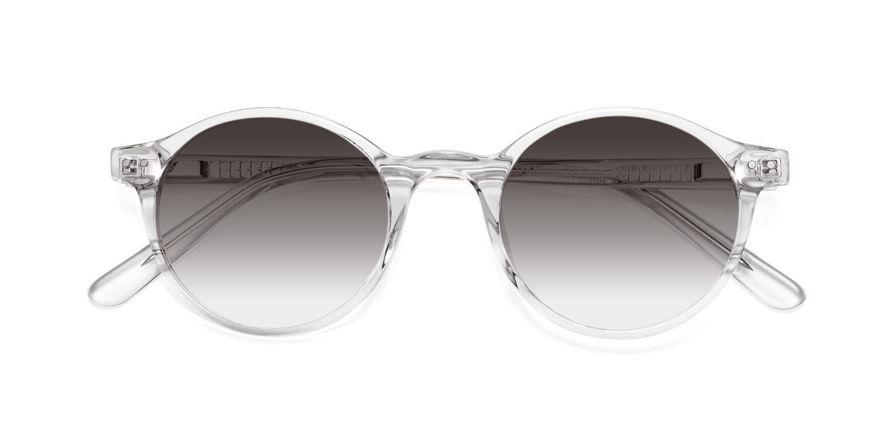 Folded Front of 17519 in Clear with Gray Gradient Lenses