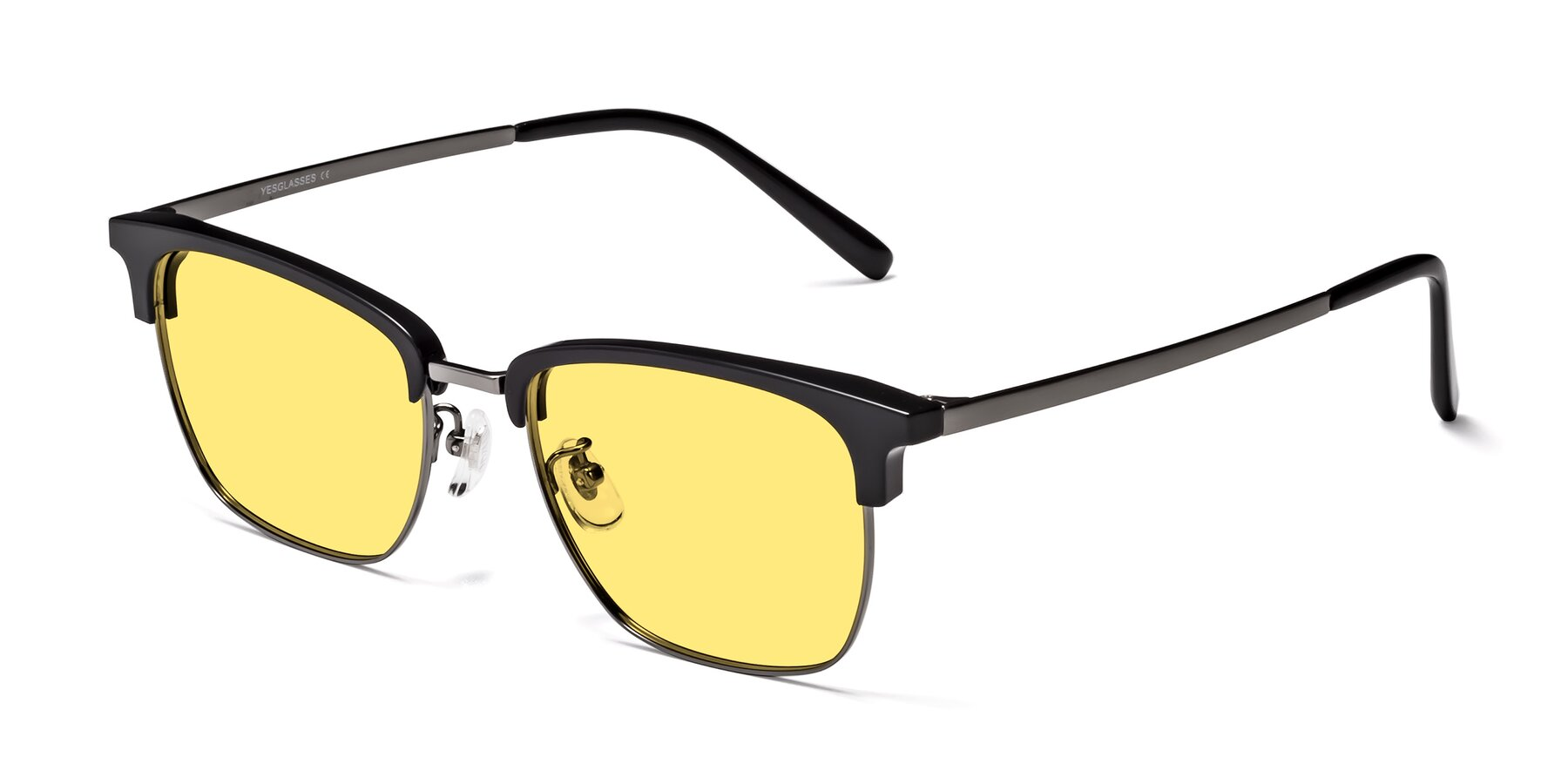 Angle of Milpa in Black-Gun with Medium Yellow Tinted Lenses