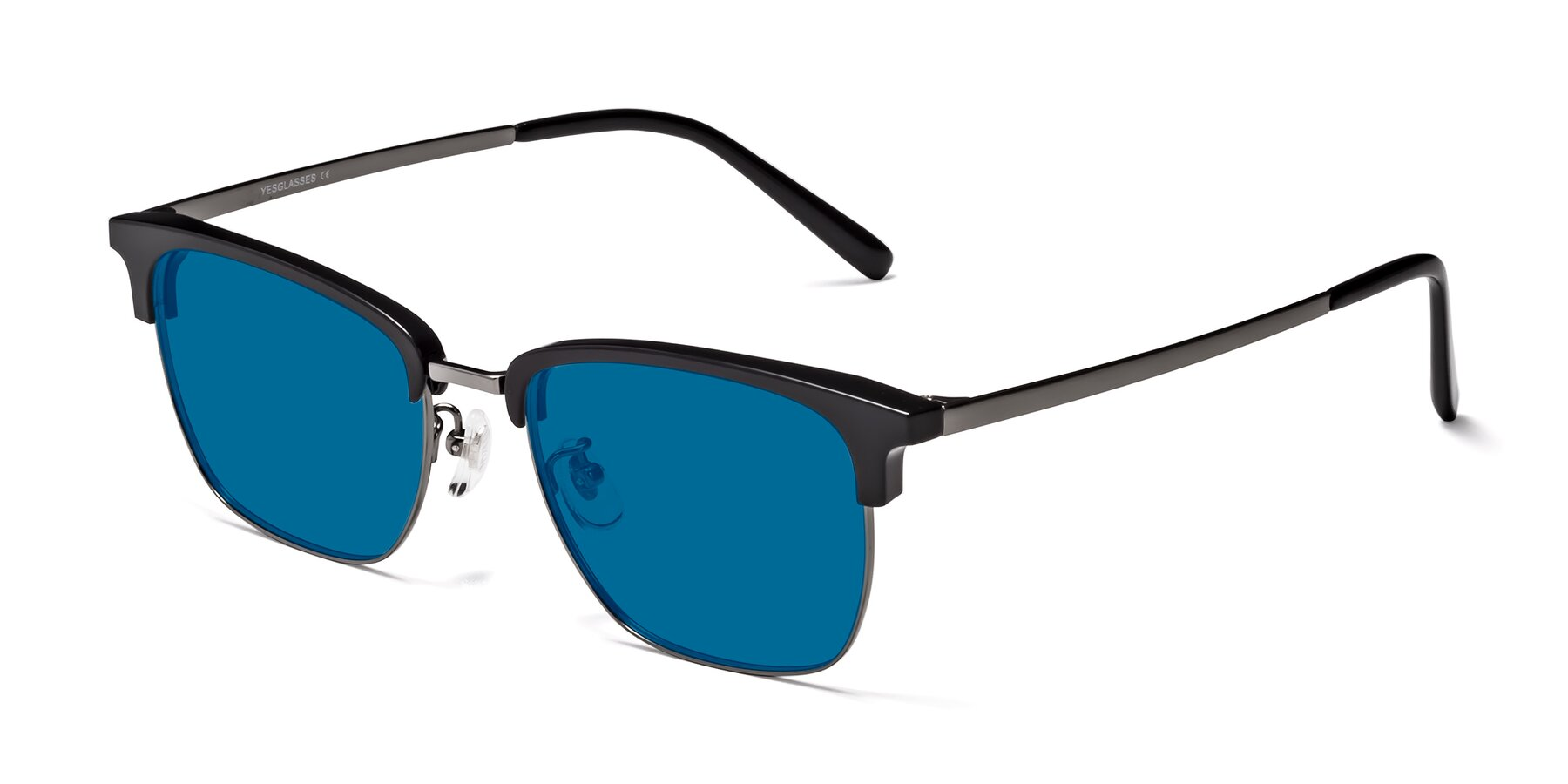 Angle of Milpa in Black-Gun with Blue Tinted Lenses