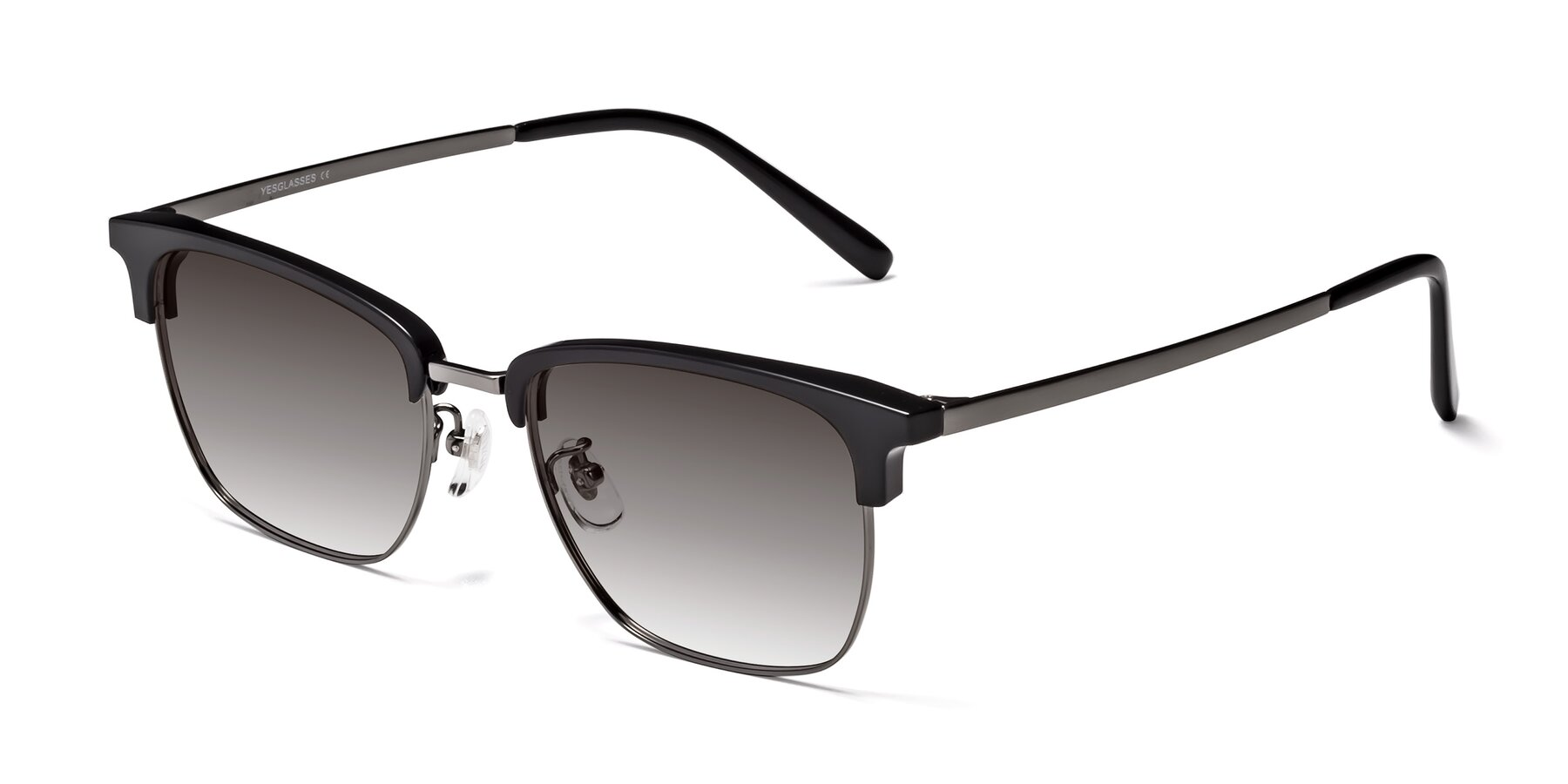 Angle of Milpa in Black-Gun with Gray Gradient Lenses