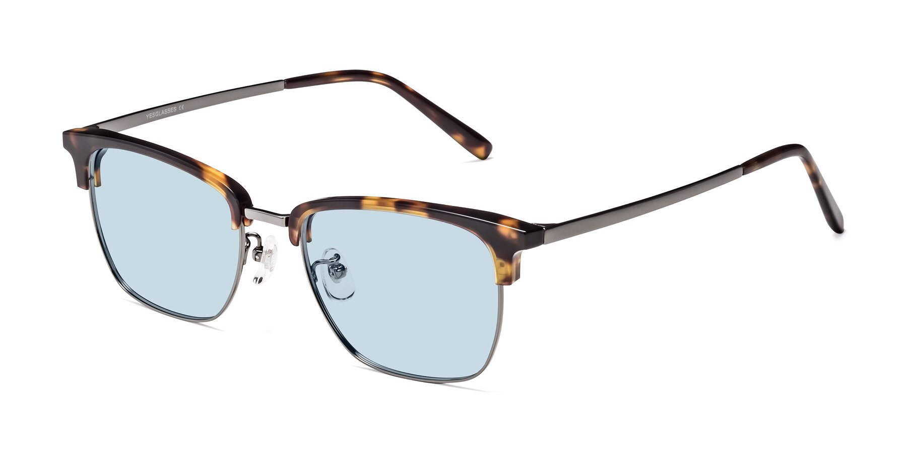 Angle of Milpa in Tortoise with Light Blue Tinted Lenses