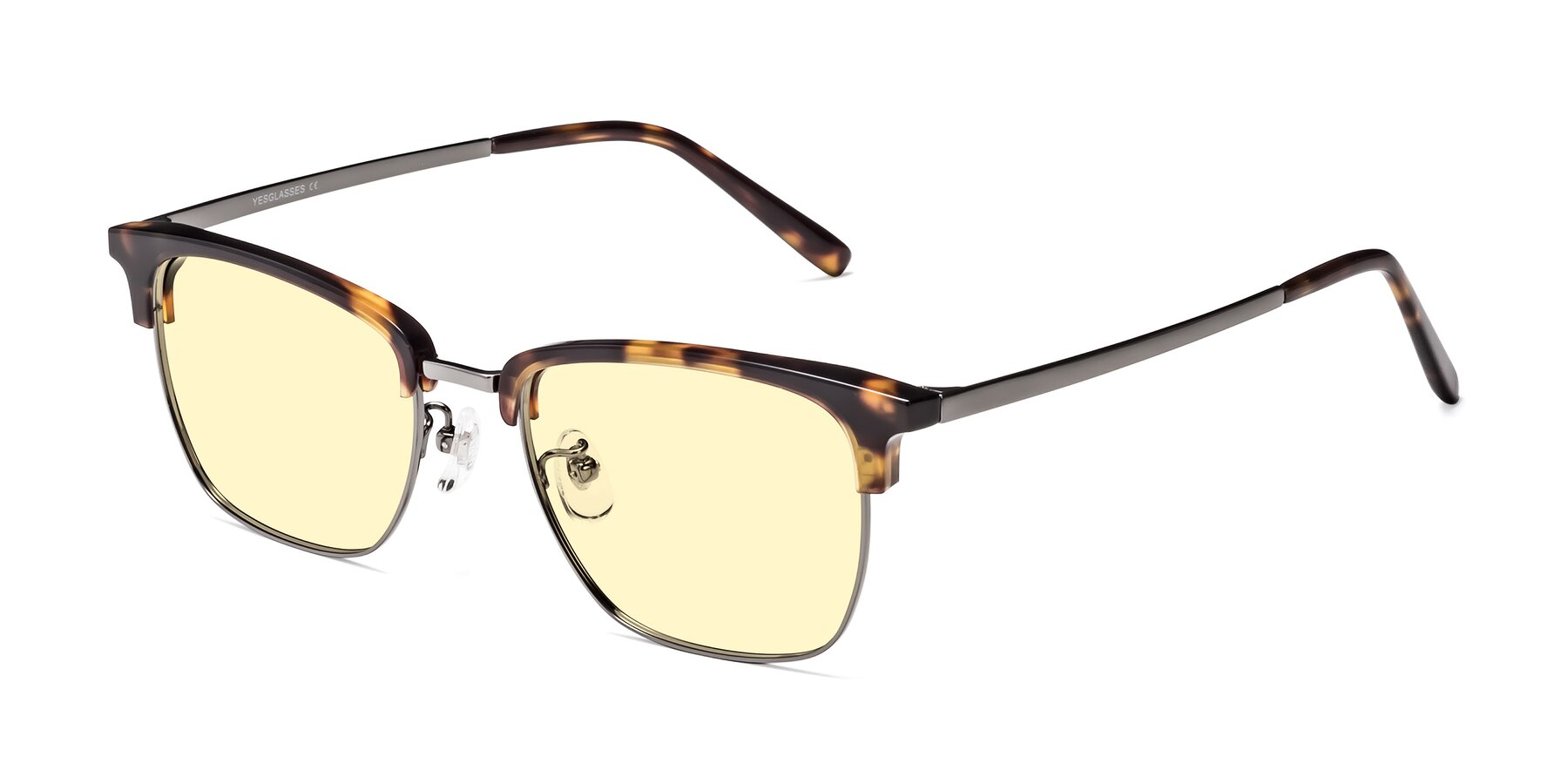 Angle of Milpa in Tortoise with Light Yellow Tinted Lenses