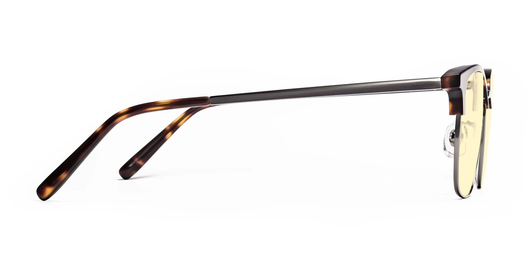 Side of Milpa in Tortoise with Light Yellow Tinted Lenses