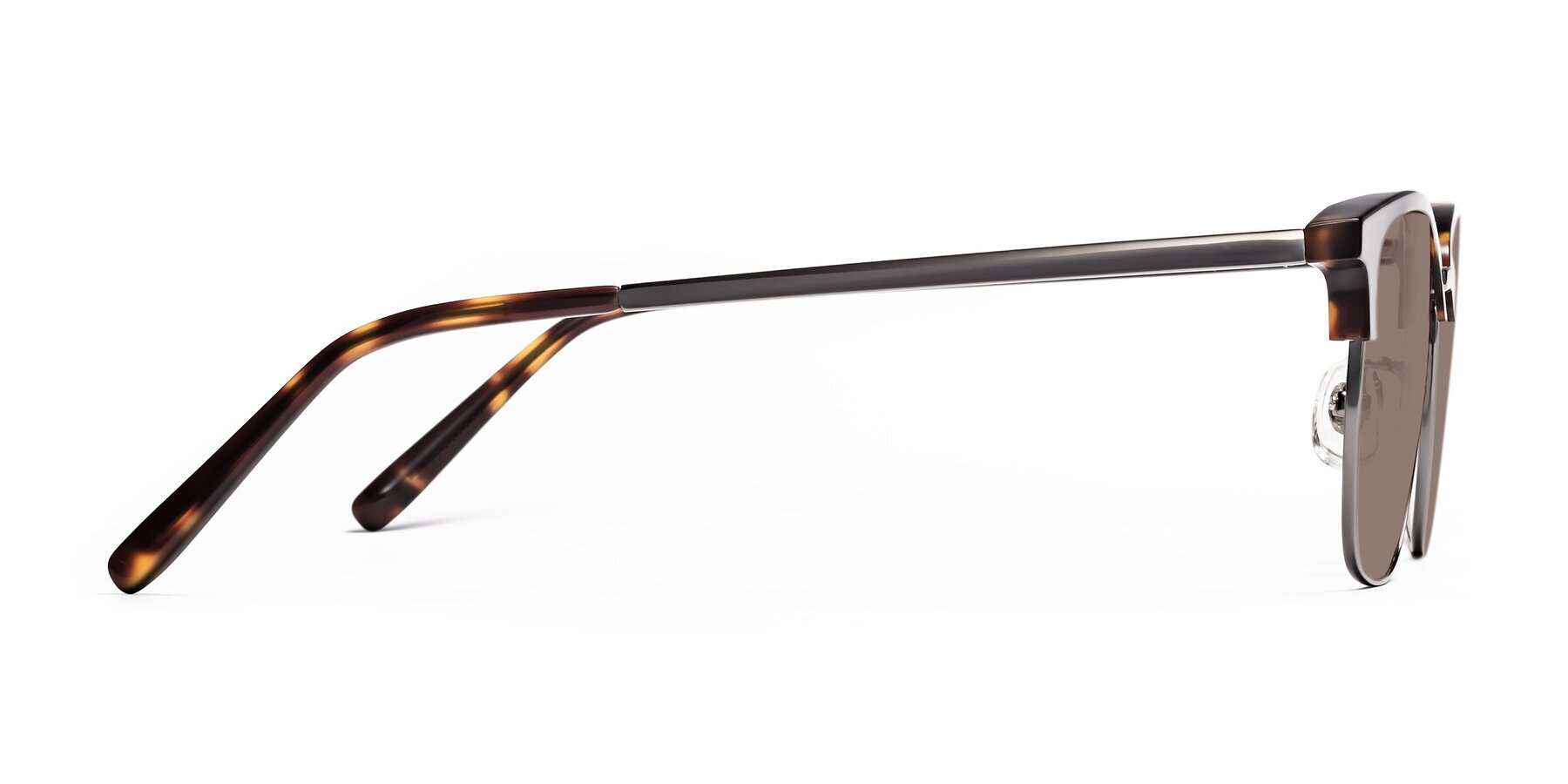 Side of Milpa in Tortoise with Medium Brown Tinted Lenses