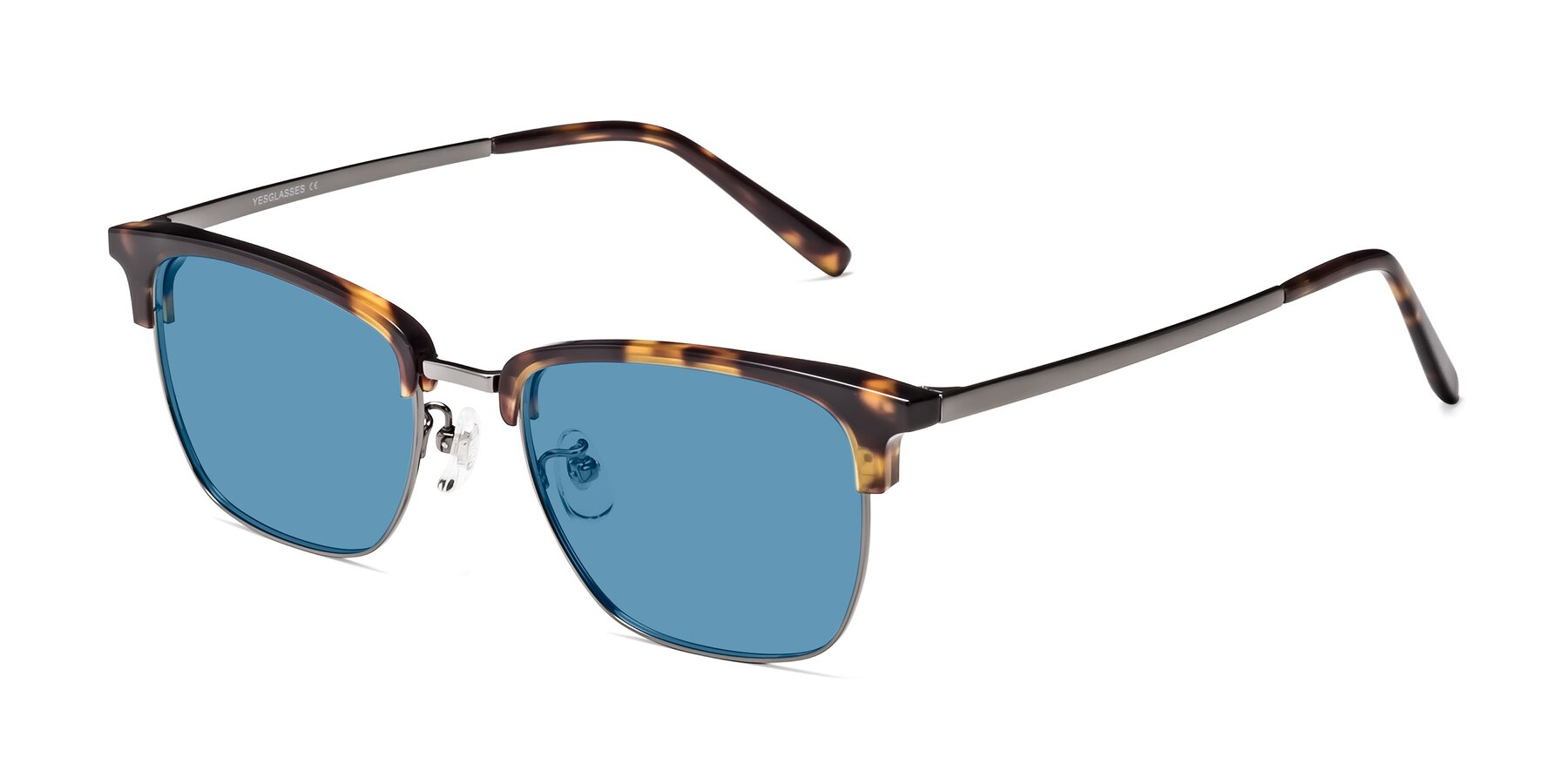 Angle of Milpa in Tortoise with Medium Blue Tinted Lenses