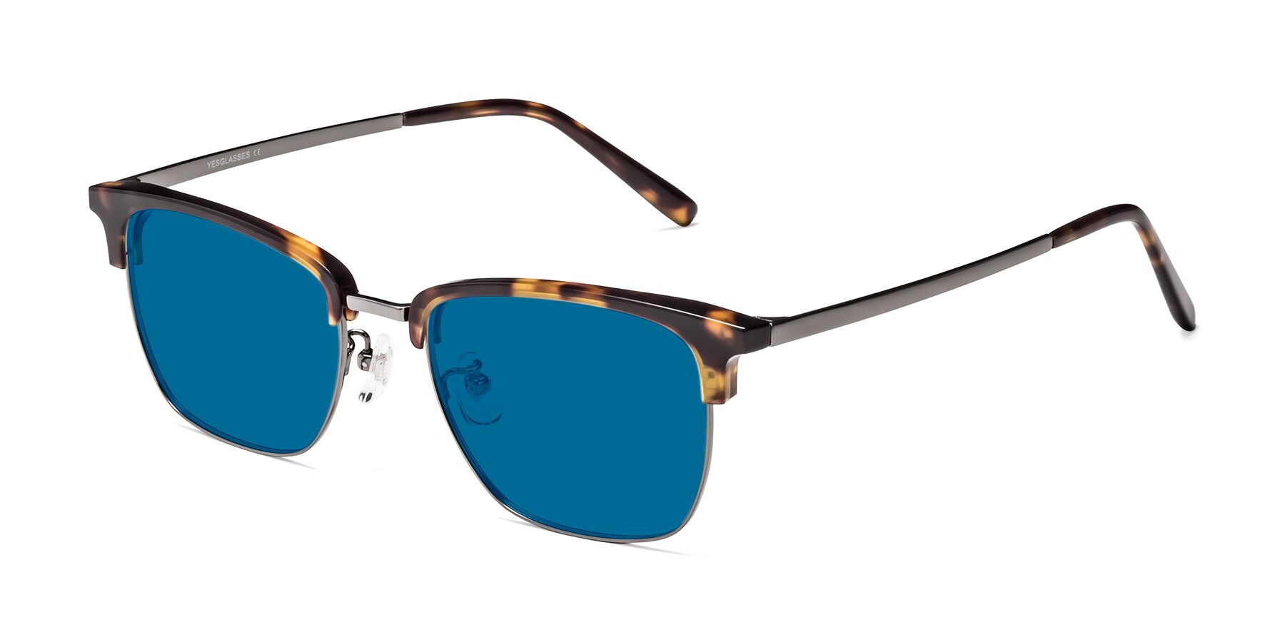 Angle of Milpa in Tortoise with Blue Tinted Lenses