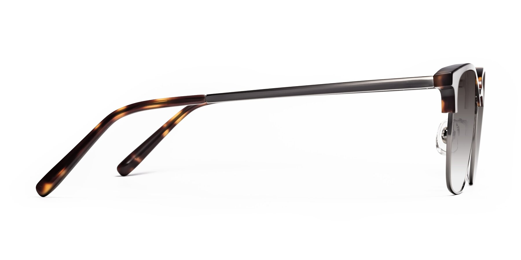 Side of Milpa in Tortoise with Gray Gradient Lenses