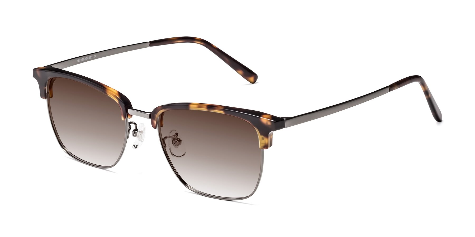 Angle of Milpa in Tortoise with Brown Gradient Lenses