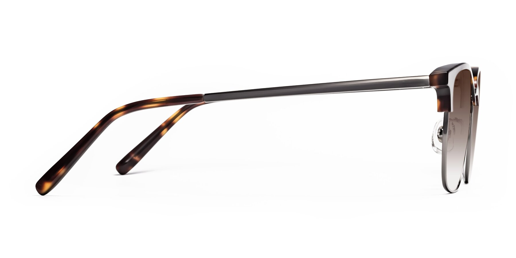 Side of Milpa in Tortoise with Brown Gradient Lenses