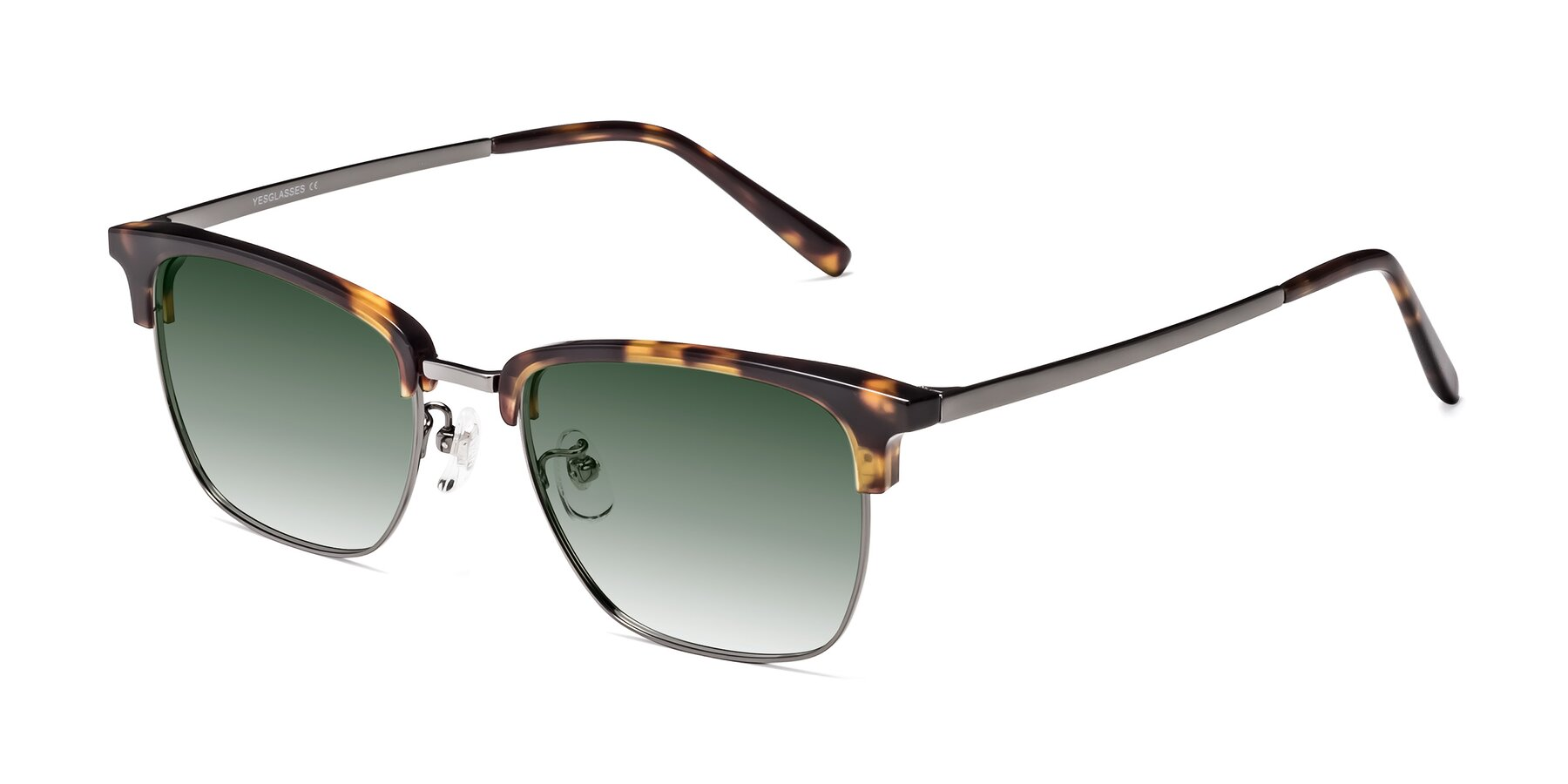 Angle of Milpa in Tortoise with Green Gradient Lenses