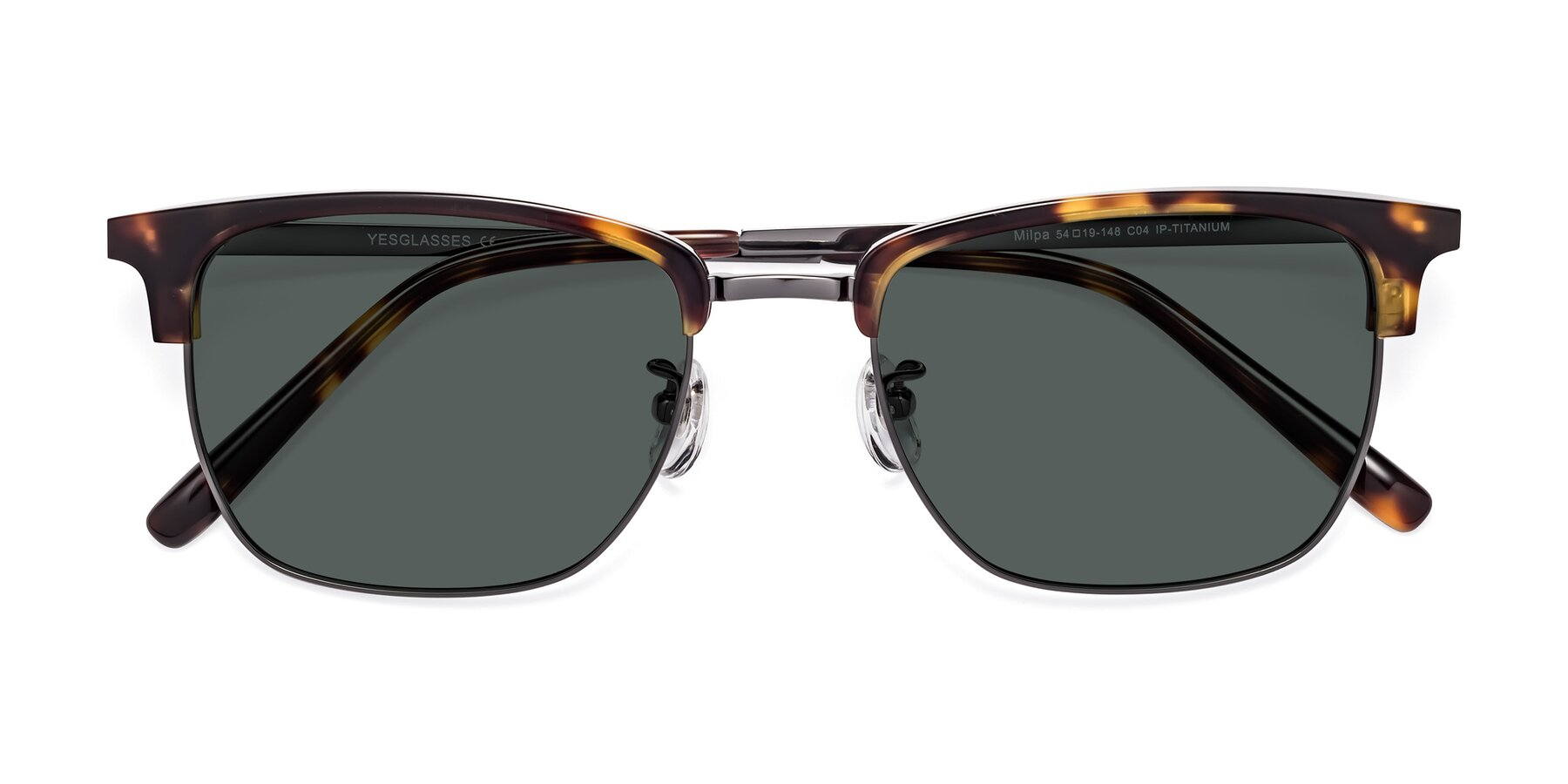 Folded Front of Milpa in Tortoise with Gray Polarized Lenses