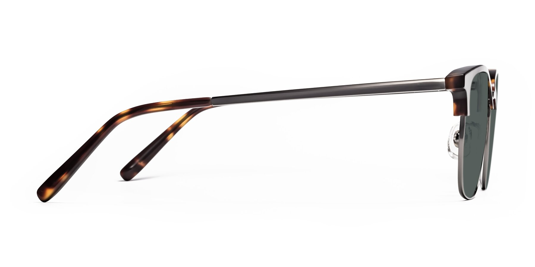 Side of Milpa in Tortoise with Gray Polarized Lenses