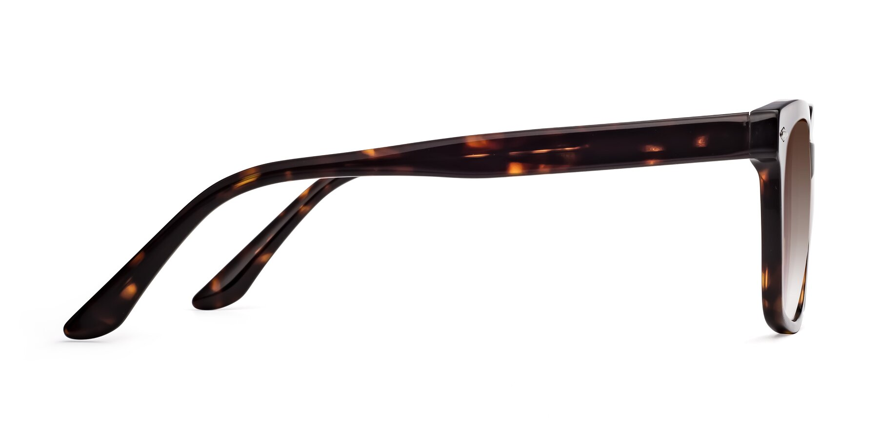 Side of 1052 in Tortoise with Brown Gradient Lenses