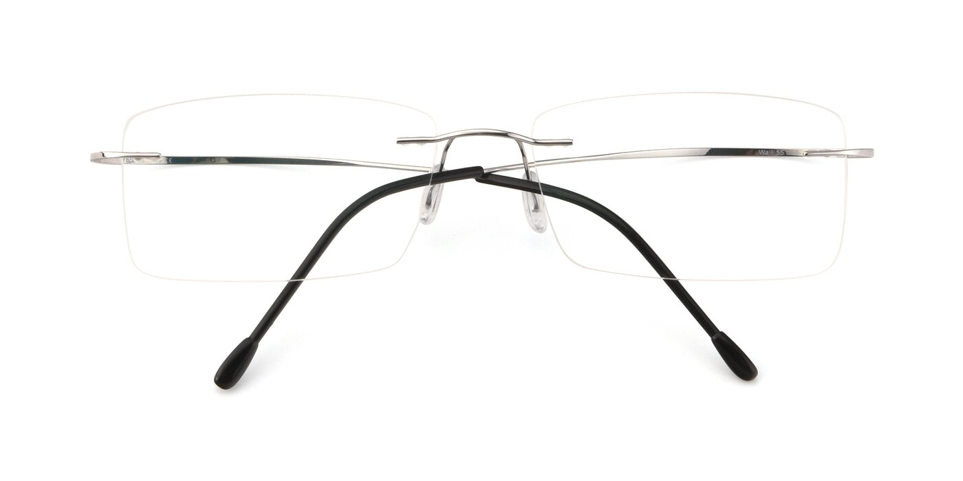 Wall - Silver Blue Light Glasses