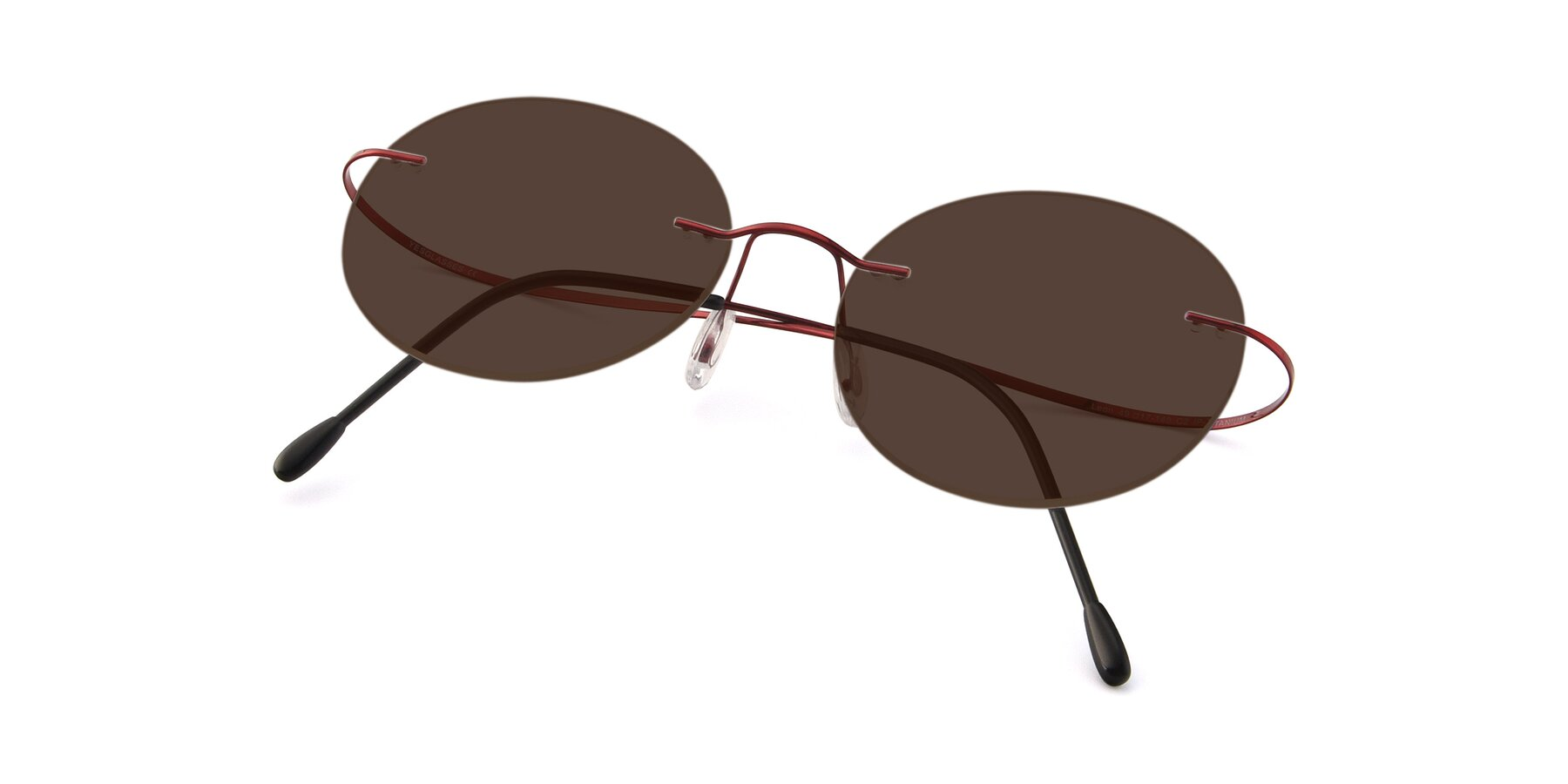 View of Leon in Wine with Brown Tinted Lenses