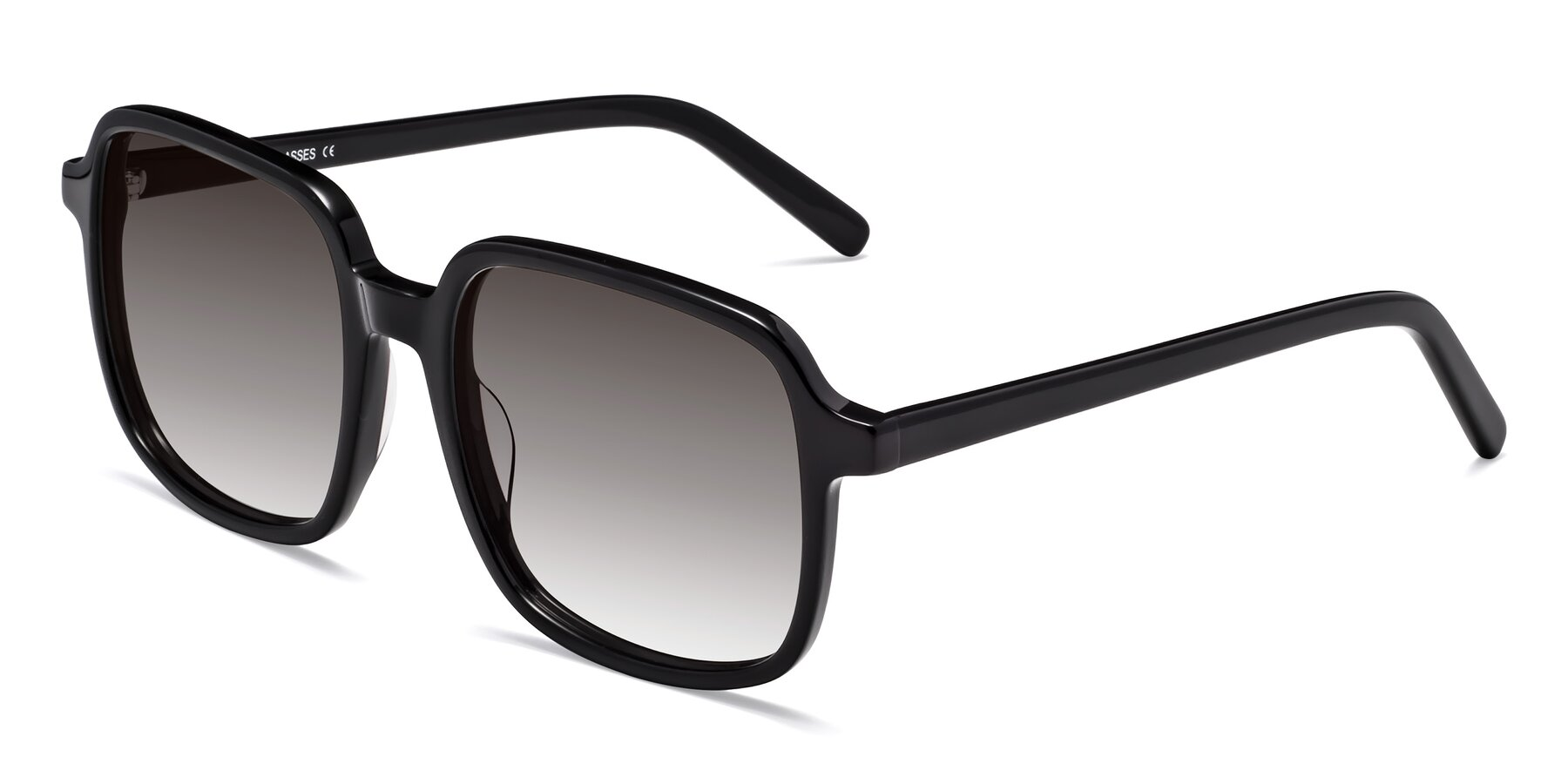 Angle of Water in Black with Gray Gradient Lenses